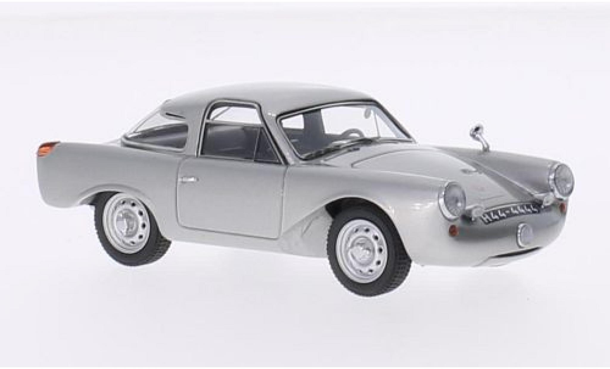 Porsche 356 1/43 Matrix Glöckler Special Coupe grise 1954