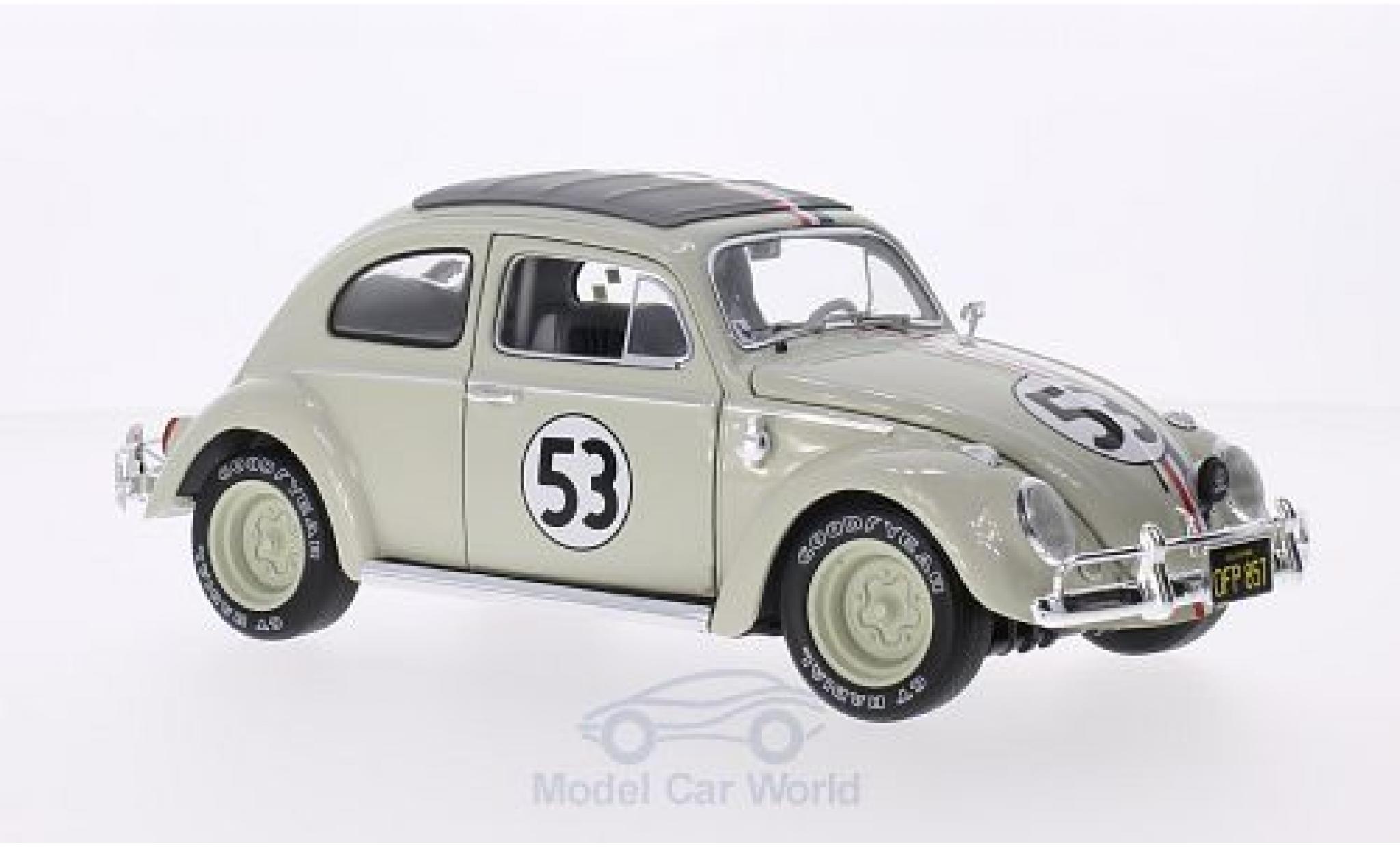Volkswagen Beetle 1/18 Mattel Elite Herbie Goes Monte Carlo