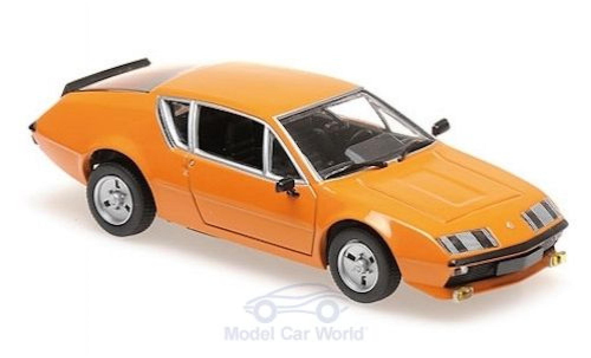 Alpine A310 1/43 Maxichamps Renault A 310 orange 1976