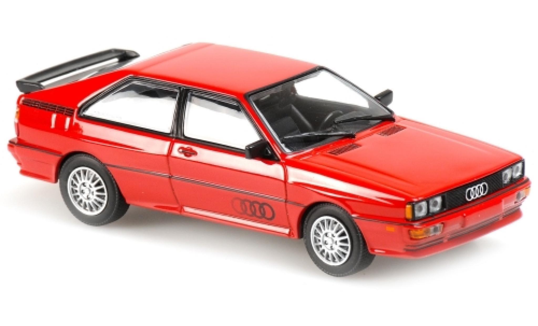 1980-1:43 Maxichamps Audi Quattro rot