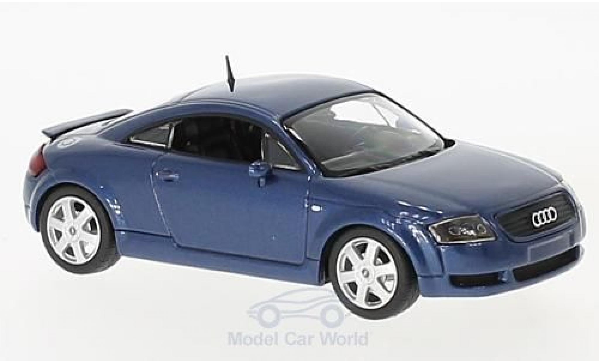 Audi TT coupe 1/43 Maxichamps Coupe métallisé bleue 1998