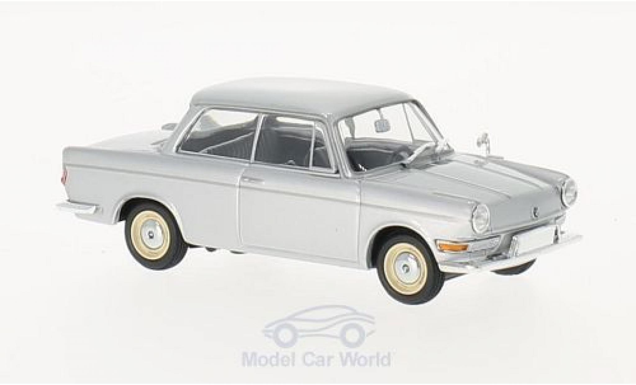Bmw 700 1/43 Maxichamps LS grise 1960