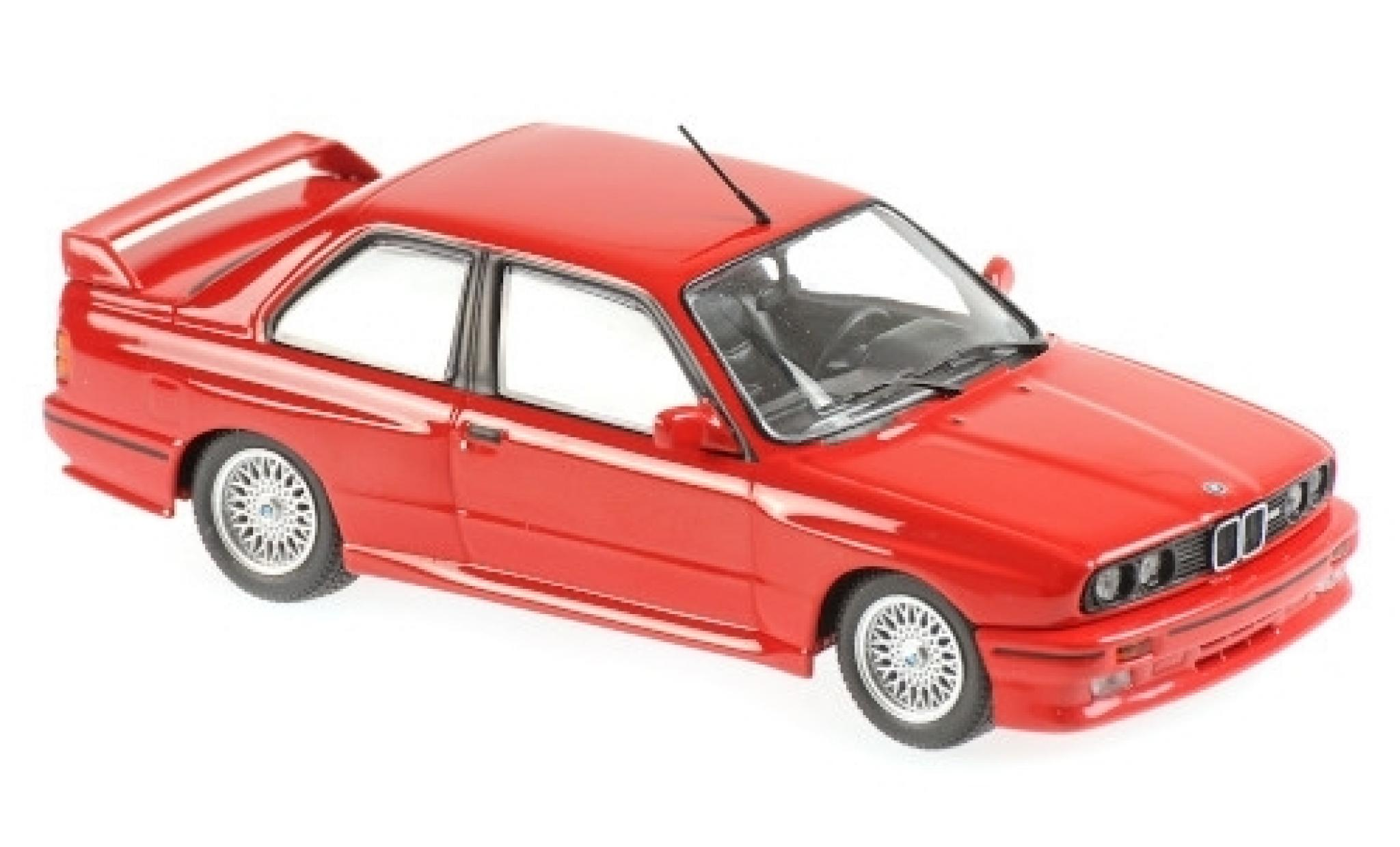 Bmw M3 1/43 Maxichamps (E30) rouge 1987