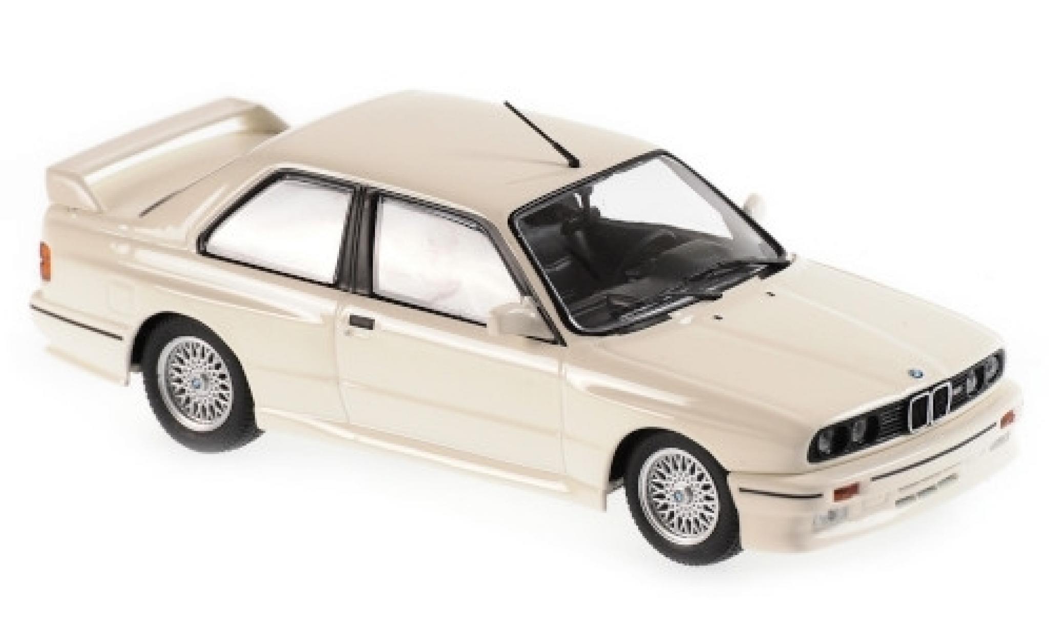 Bmw M3 1/43 Maxichamps (E30) blanche 1987