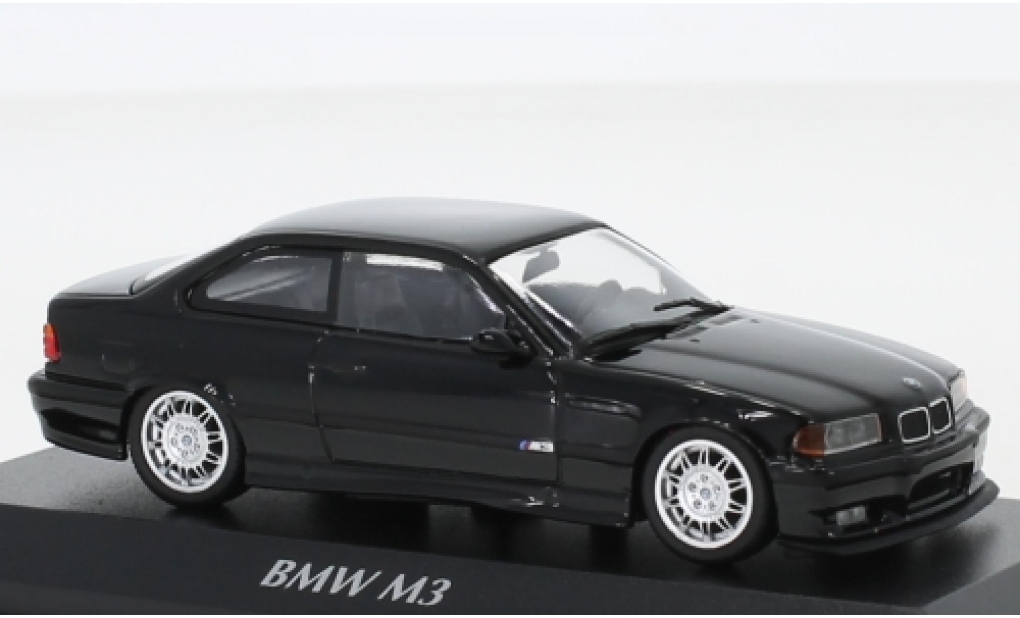 - 1992 E36 Minichamps 1:43 BMW M3 black