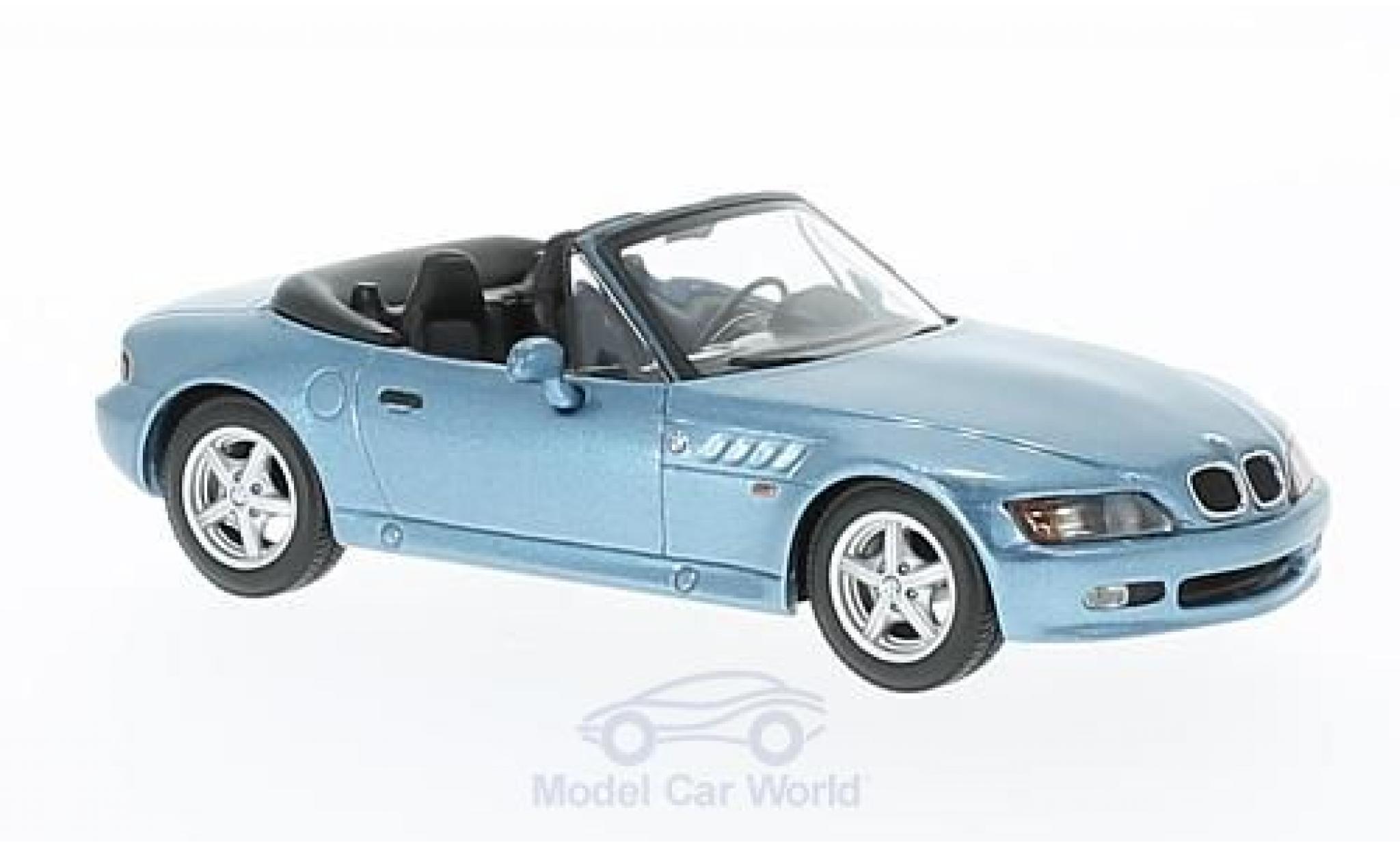 Diecast Model Cars Bmw Z3 M 1 43 Maxichamps Metallise Blue 1997 Alldiecast Us