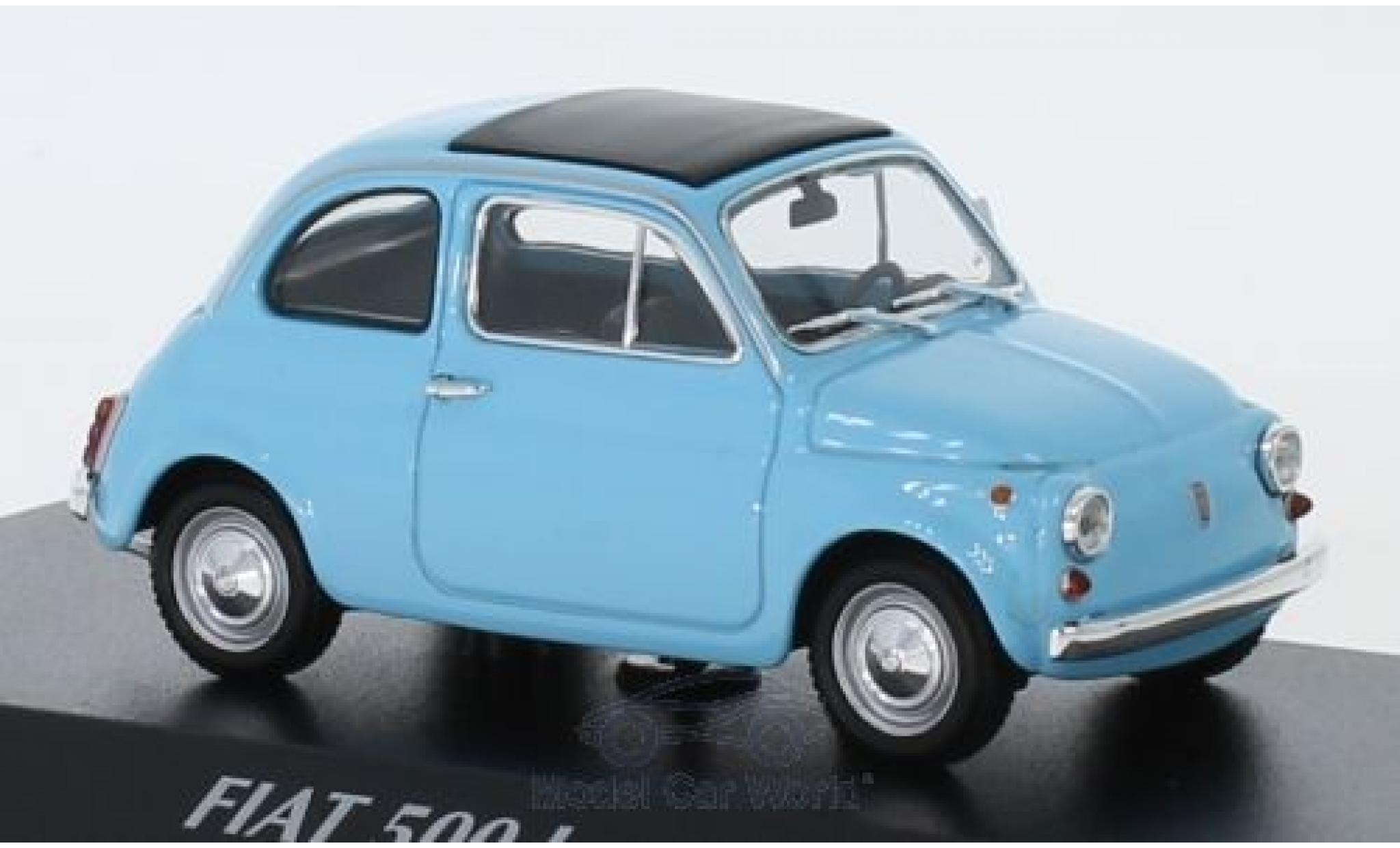 Fiat 500 1/43 Maxichamps L bleue 1965