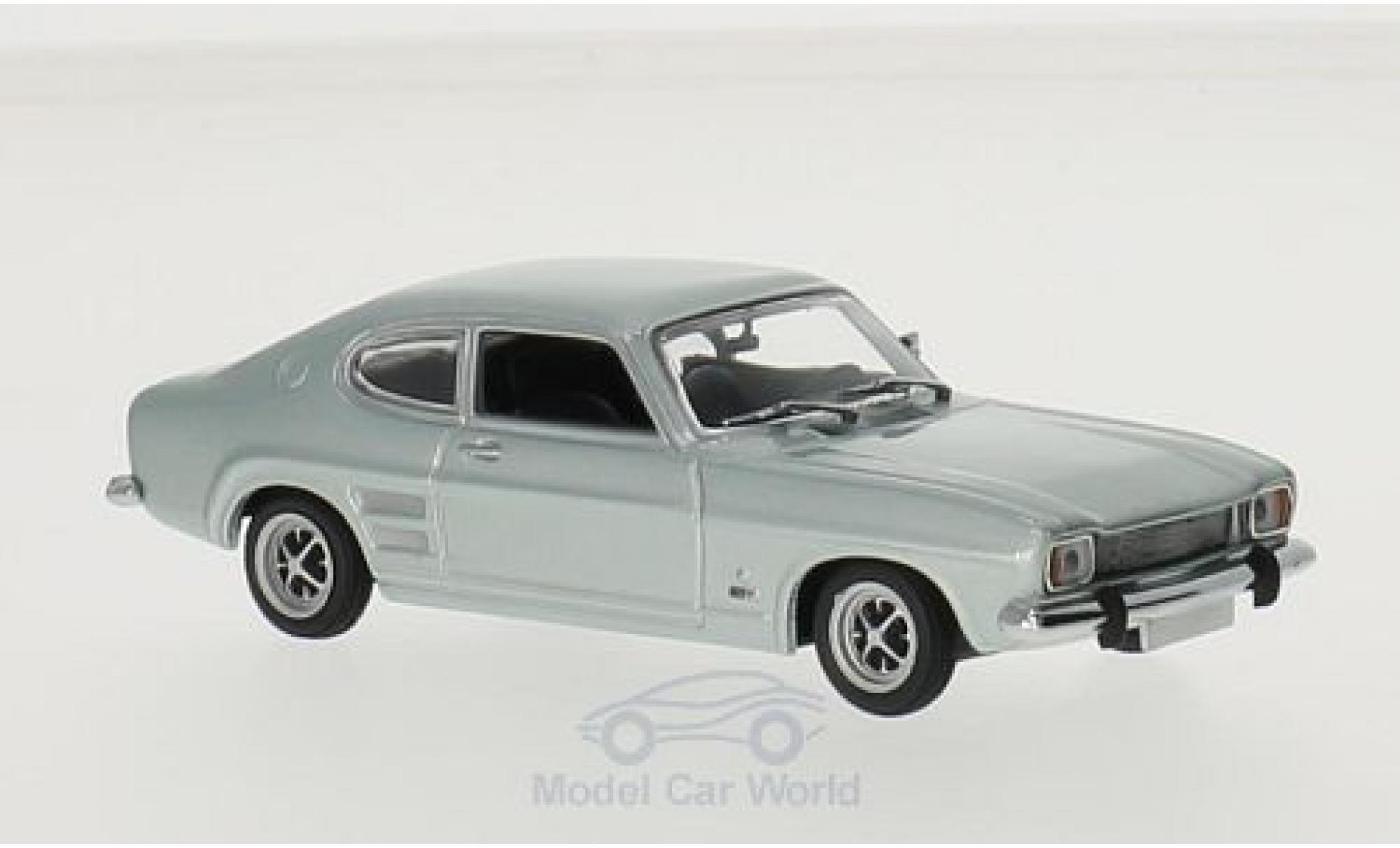 Ford Capri 1/43 Maxichamps metallise bleue 1969