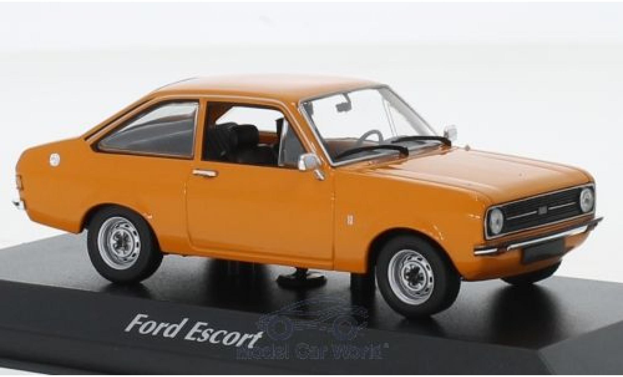 Ford Escort 1/43 Maxichamps 1.3 orange 1975