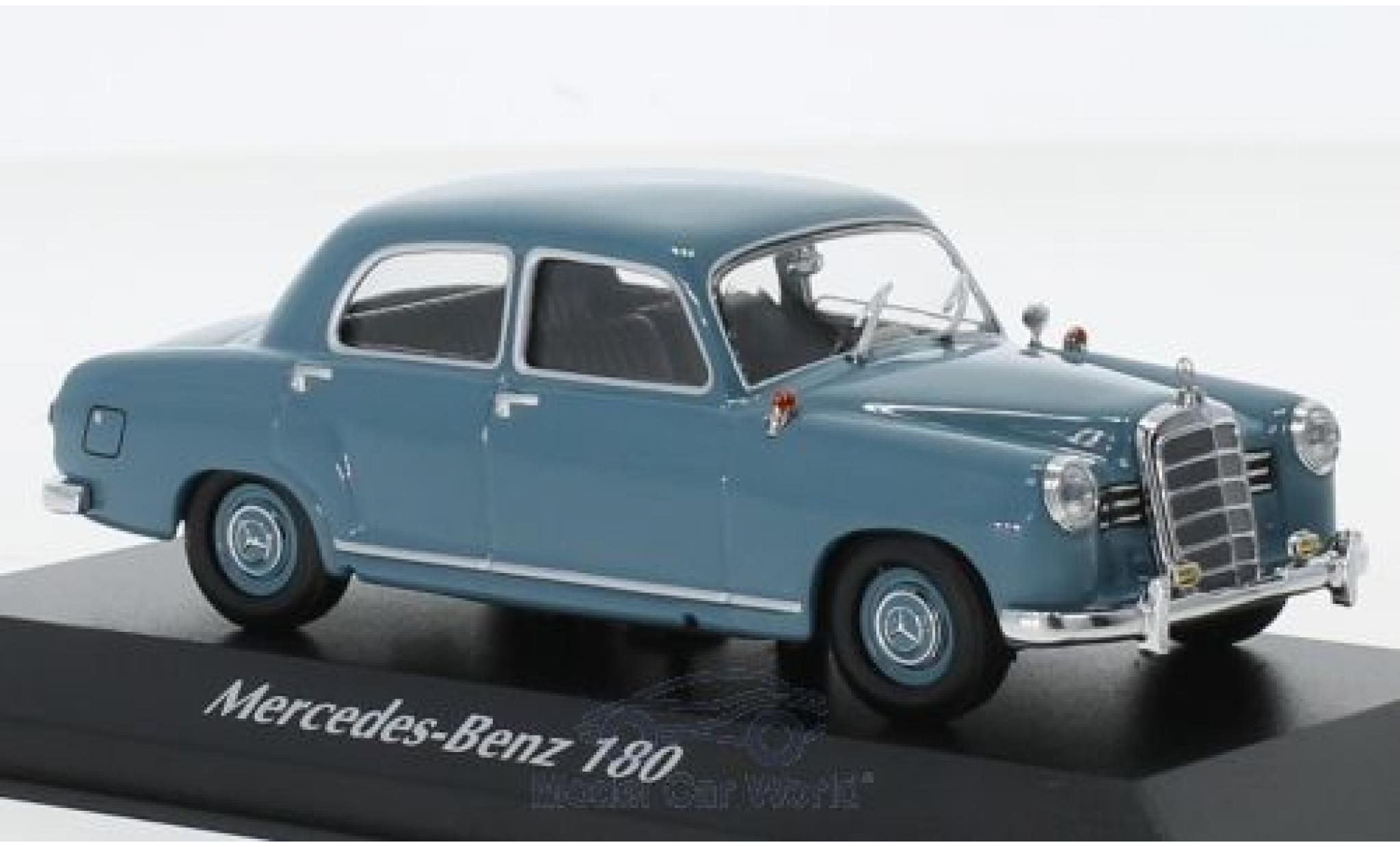 Mercedes 180 1/43 Maxichamps (W120) bleue 1955