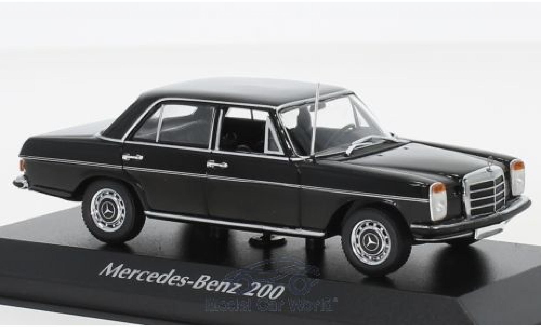 Mercedes 200 1/43 Maxichamps noire 1968