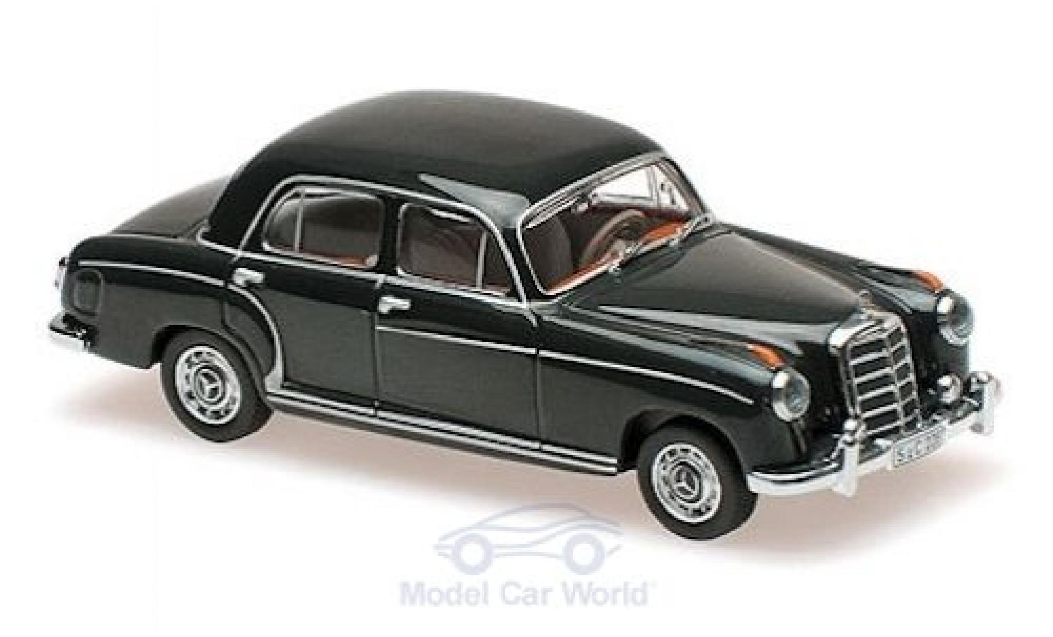 Mercedes 220 1/43 Maxichamps S verte 1956