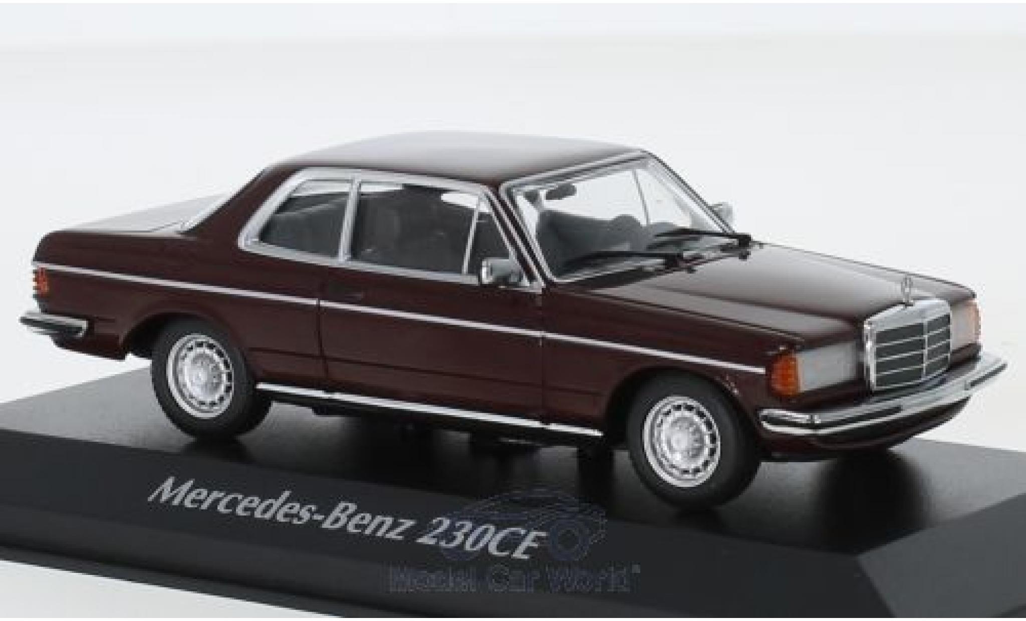 Mercedes 230 1/43 Maxichamps CE (W123) rouge 1976