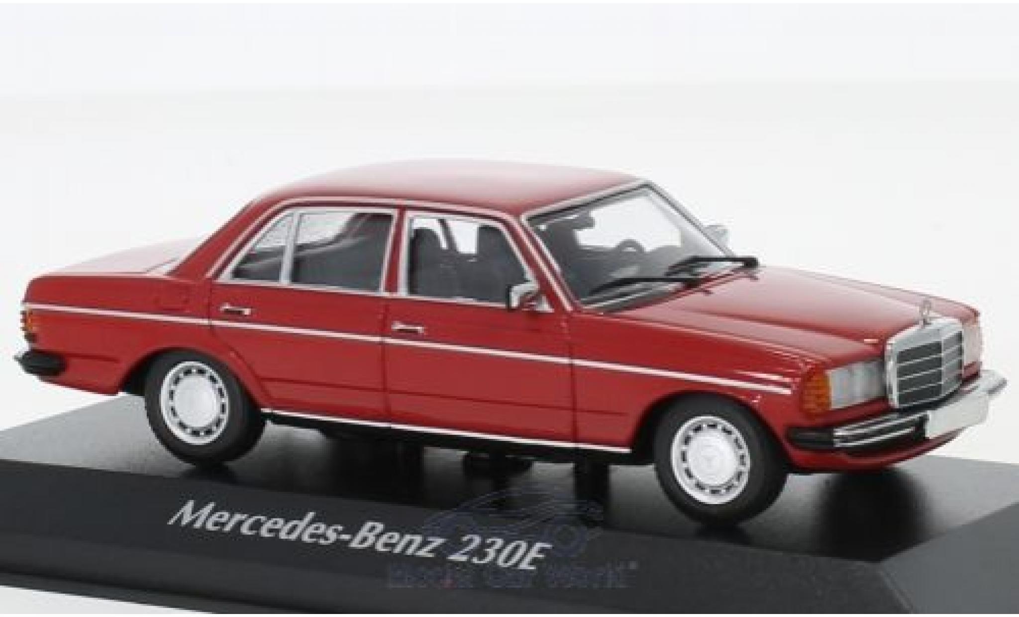 Mercedes 230 1/43 Maxichamps E (W123) rouge 1982