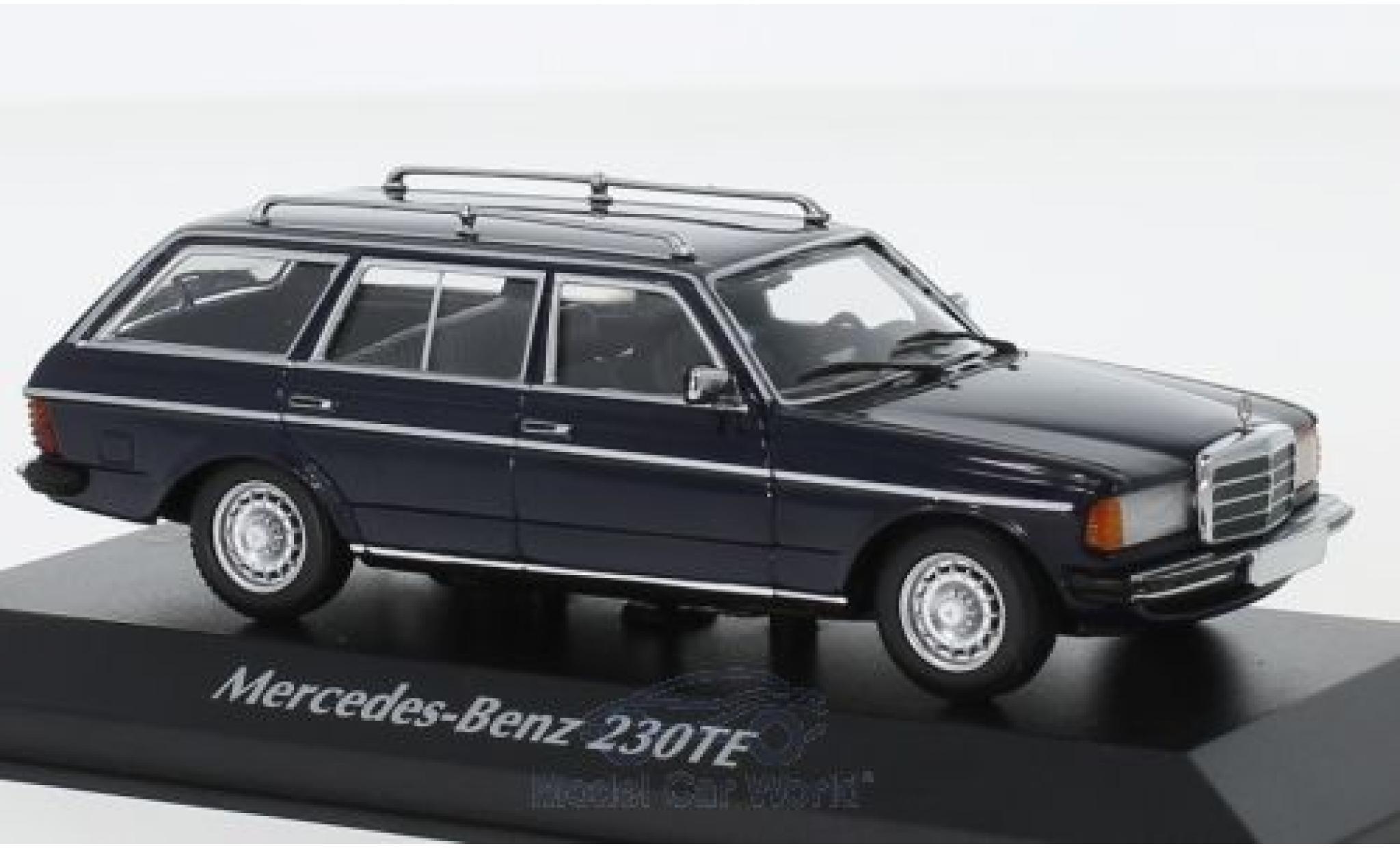 Mercedes 230 1/43 Maxichamps TE (W123) bleue 1982