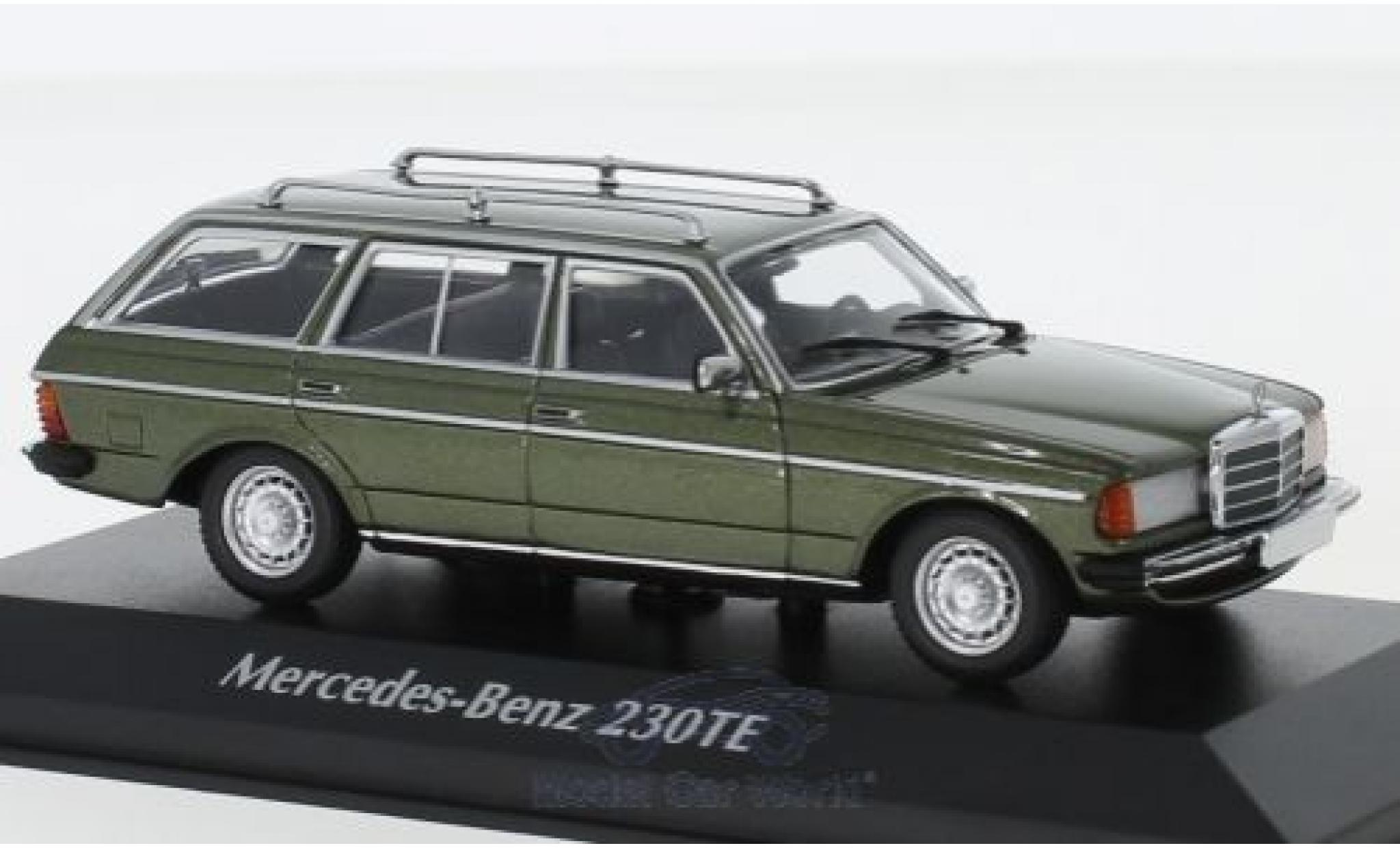 Mercedes 230 1/43 Maxichamps TE (W123) métallisé verte 1982