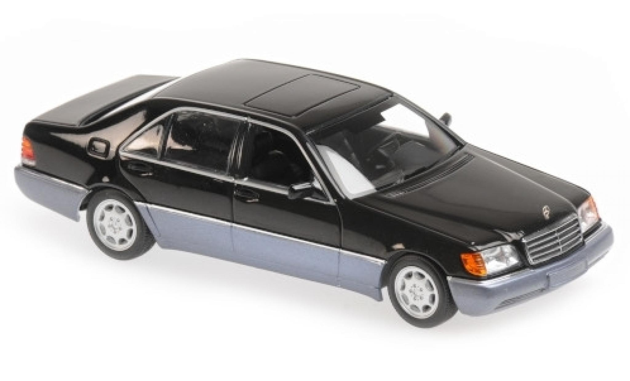 Mercedes 600 1/43 Maxichamps SEL (W140) metallise black 1992