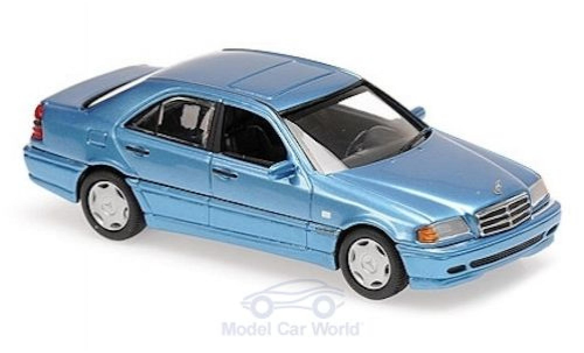 Mercedes Classe C 1/43 Maxichamps (W202) metallise azul 1997