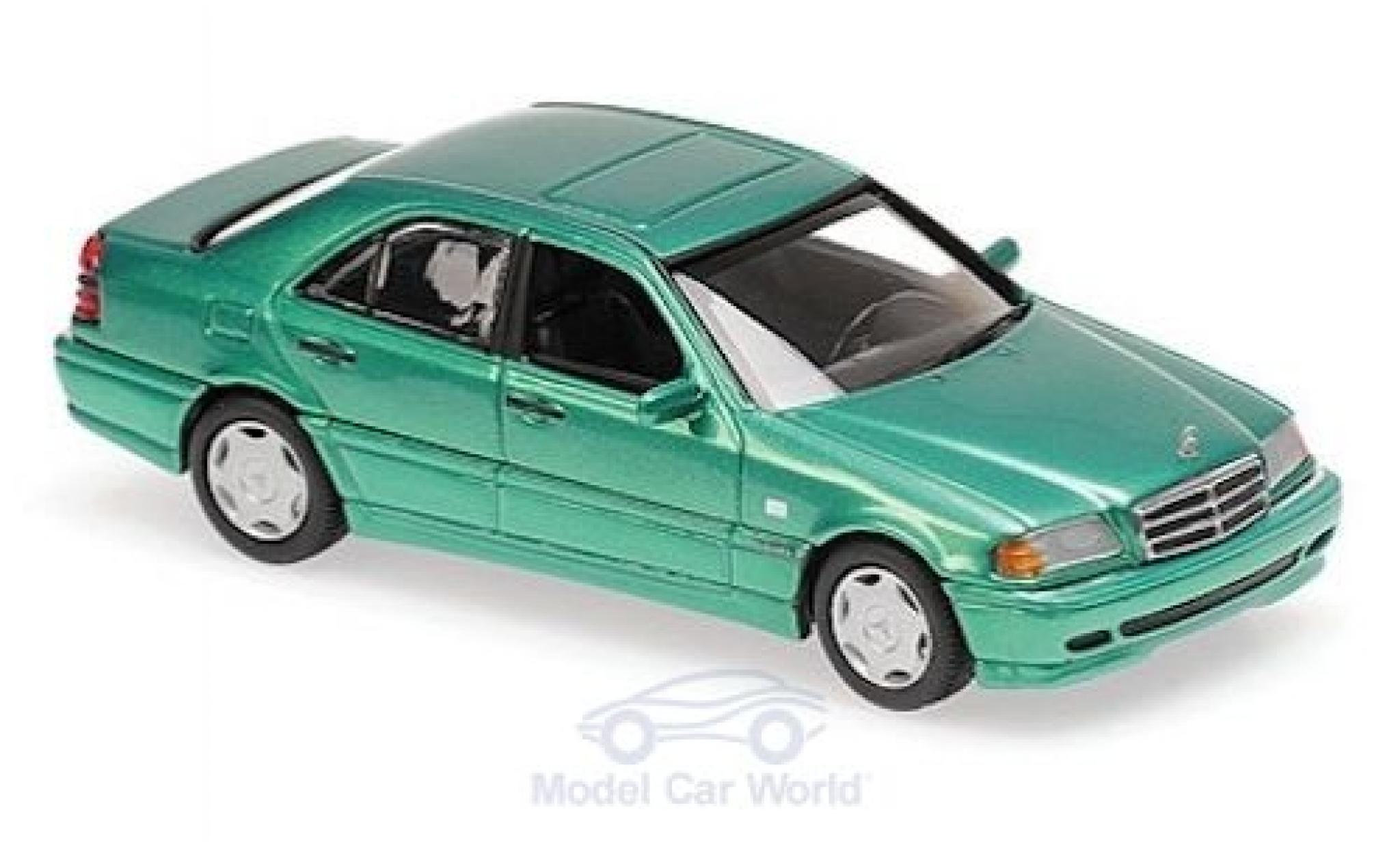 Mercedes Classe C 1/43 Maxichamps (W202) metallise verte 1997