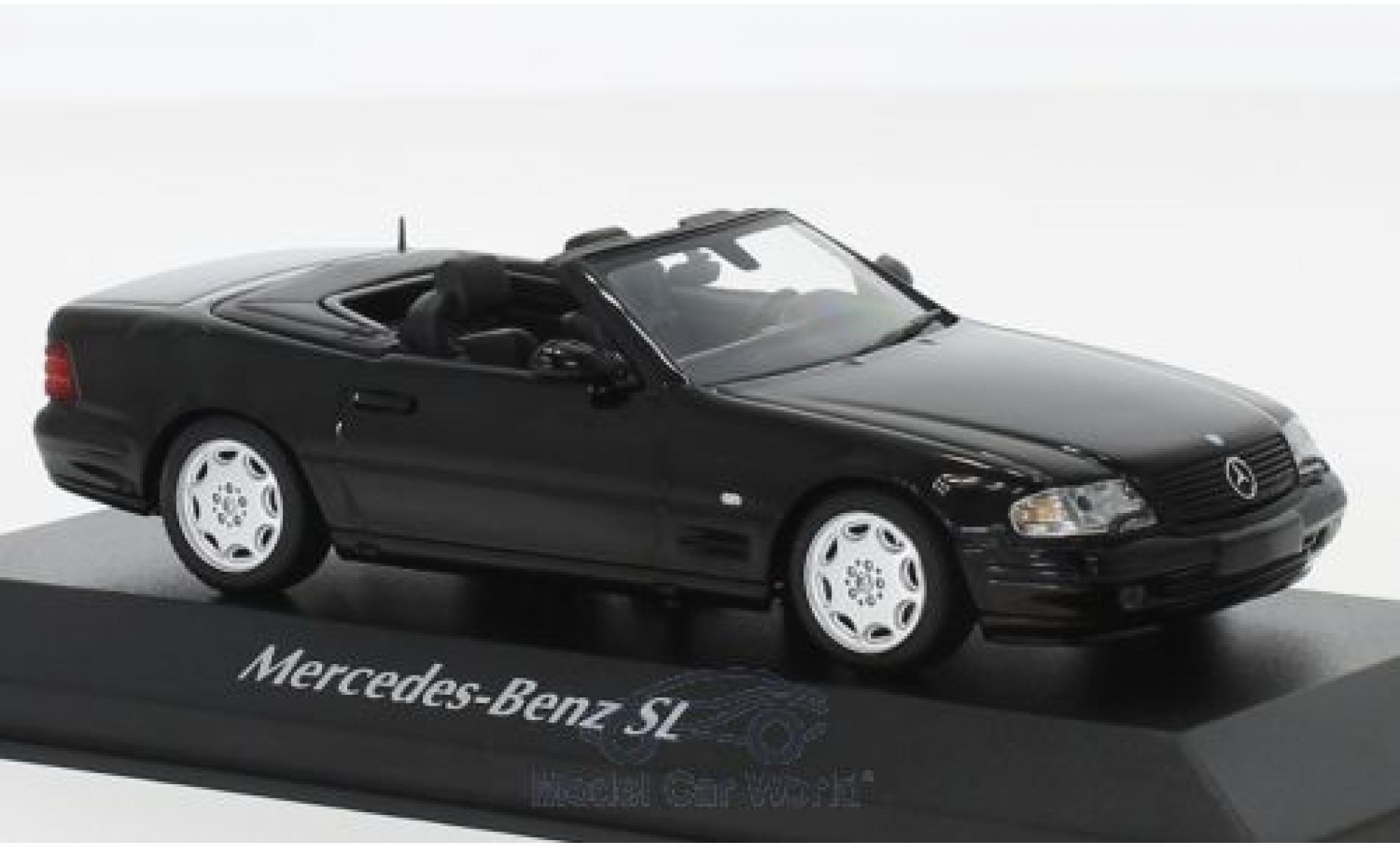 Mercedes Classe SL 1/43 Maxichamps SL negro 1999
