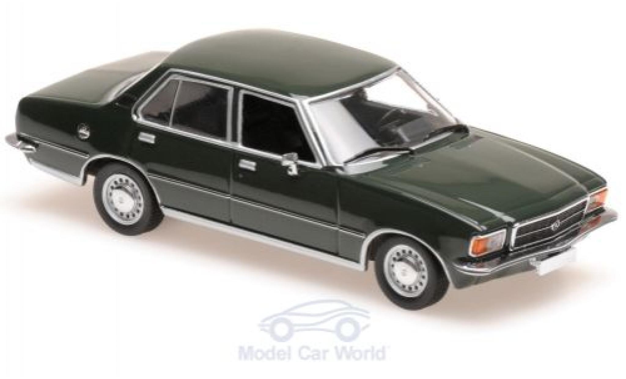 Opel Rekord 1/43 Maxichamps D verte 1975