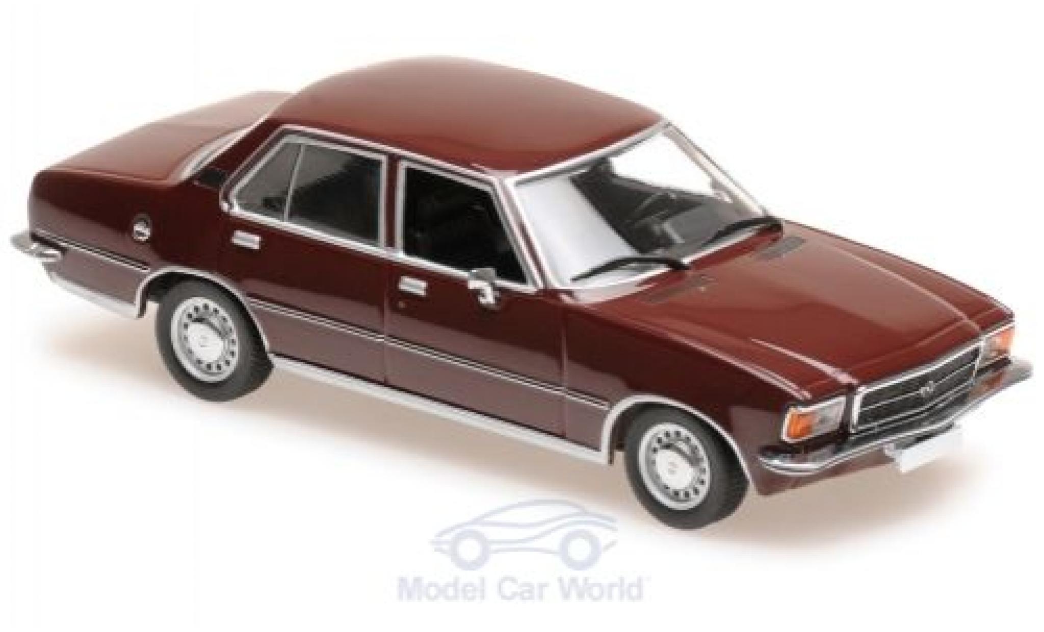 Opel Rekord 1/43 Maxichamps D rouge 1975