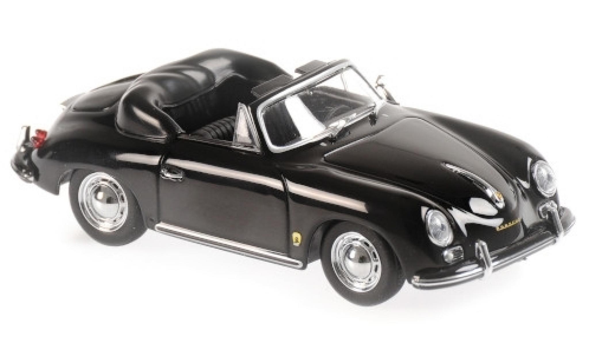Porsche 356 1/43 Maxichamps A Cabriolet noire 1956