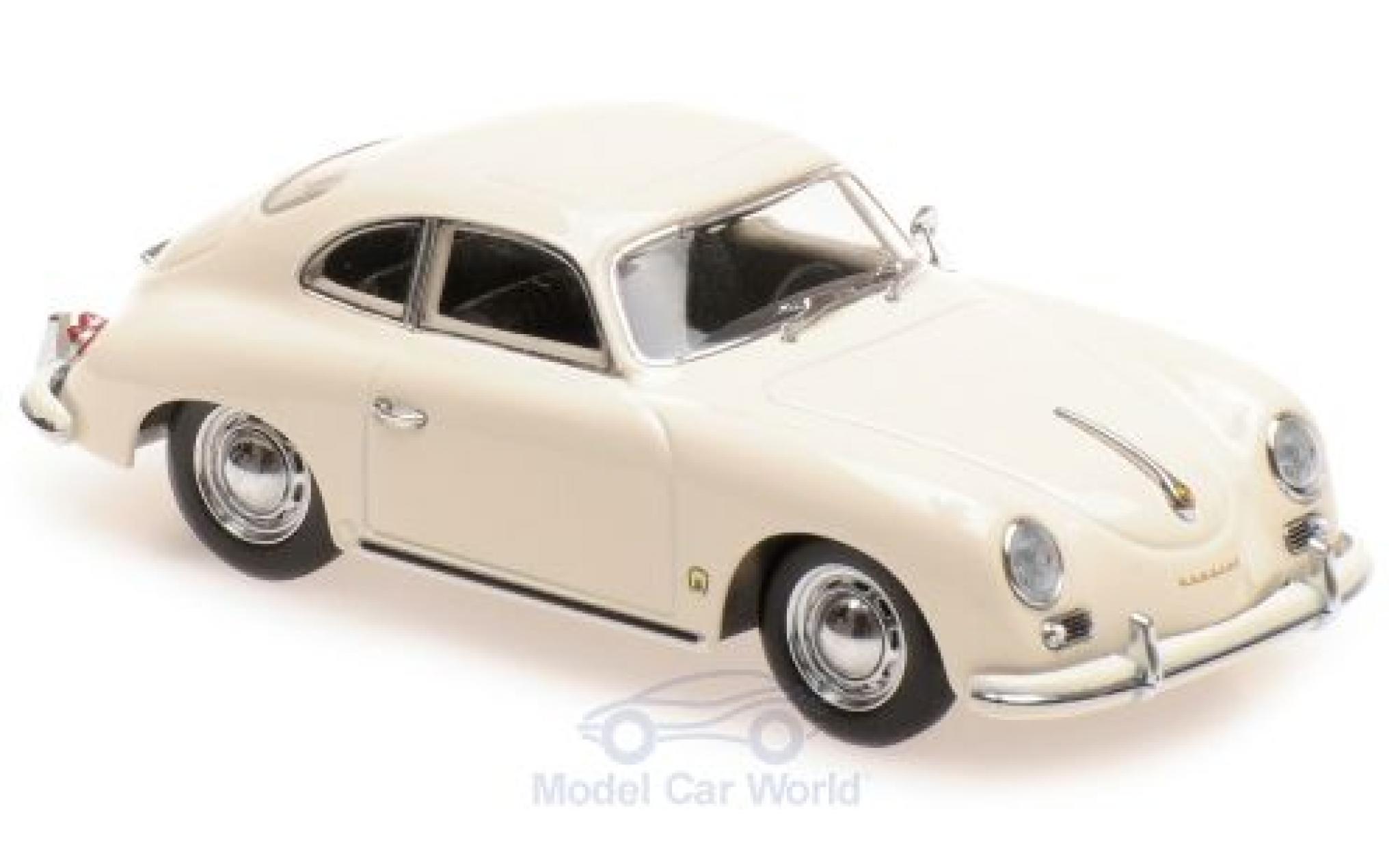 Porsche 356 1/43 Maxichamps A Coupe beige 1959