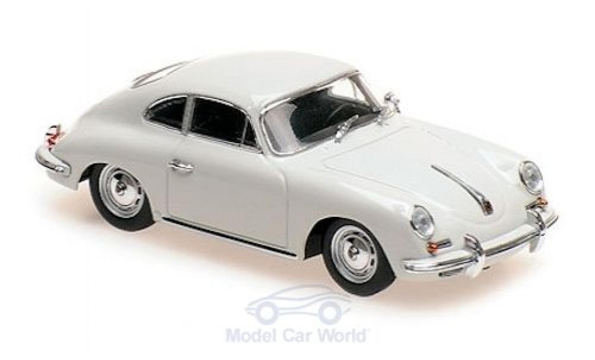 Porsche 356 1/43 Maxichamps B Coupe grise 1961