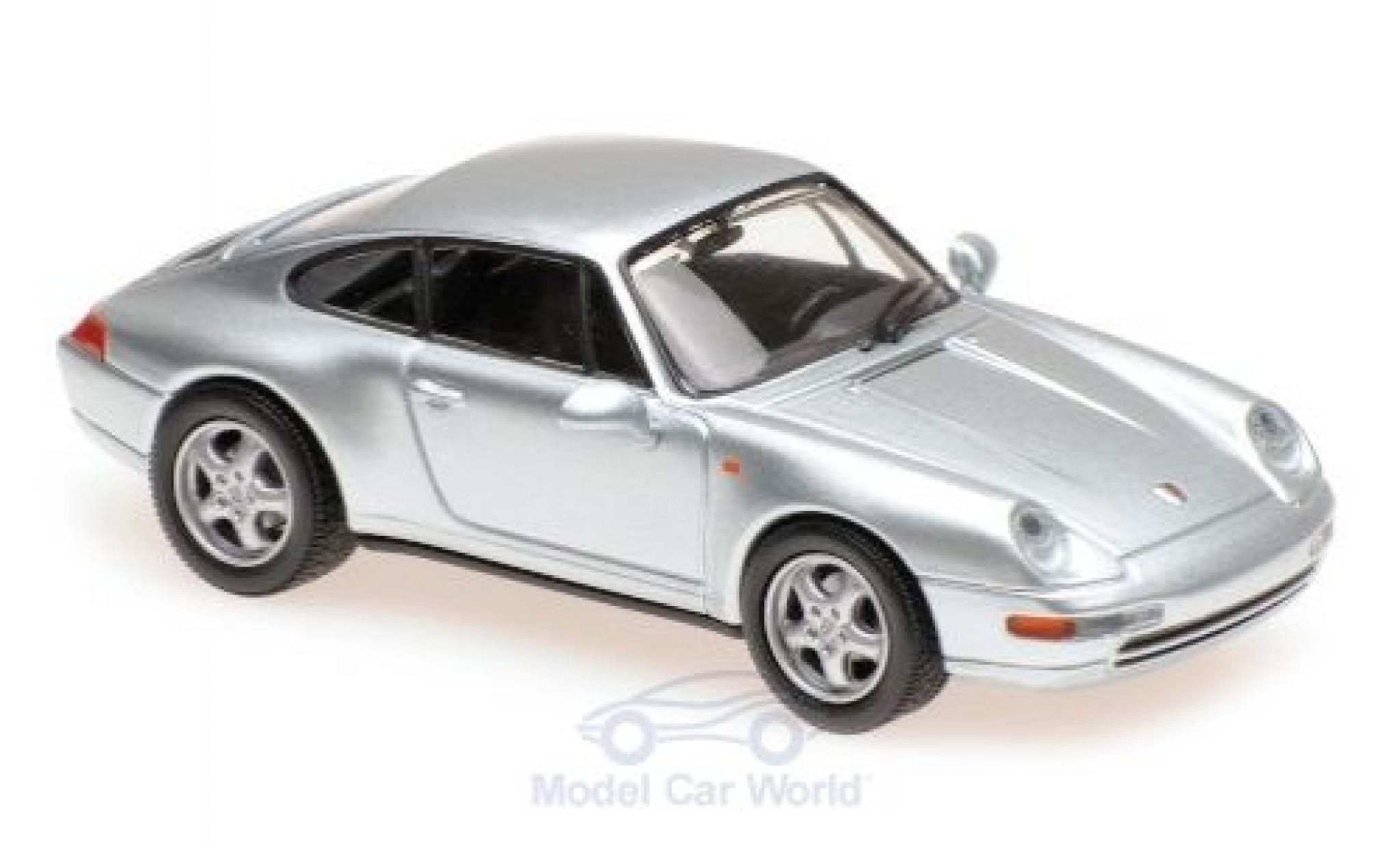 Porsche 911 1/43 Maxichamps (993) grise 1993