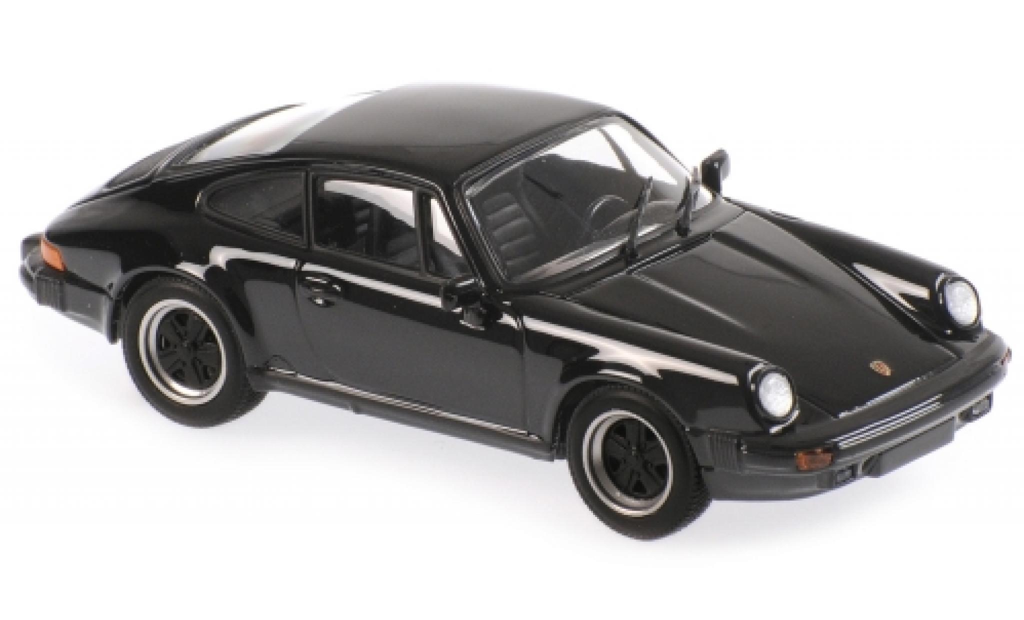 Porsche 930 1/43 Maxichamps 911 SC noire 1979