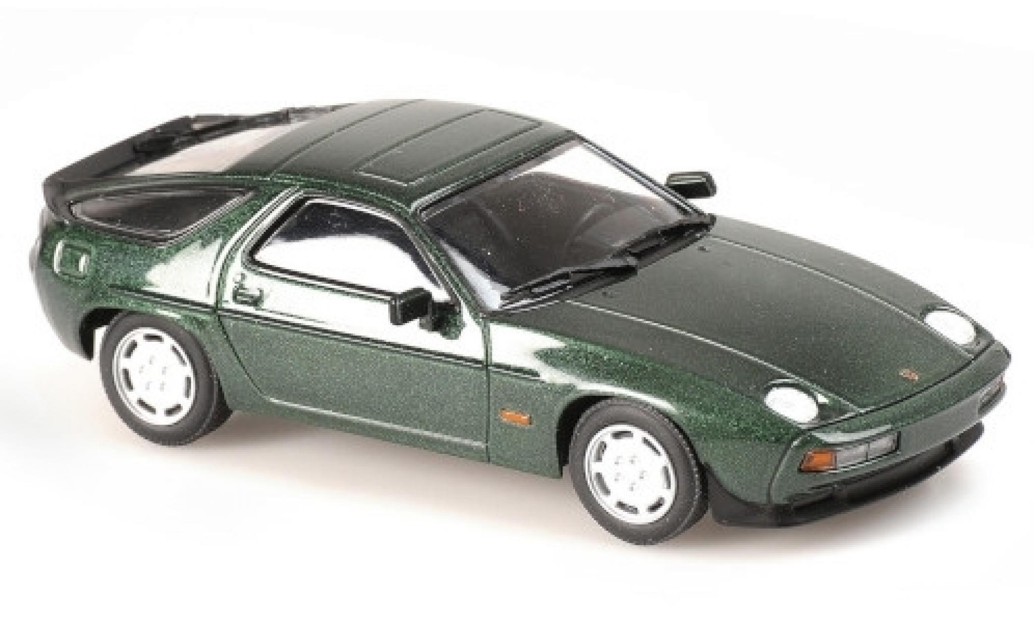 Porsche 928 1/43 Maxichamps S metallise verte 1979