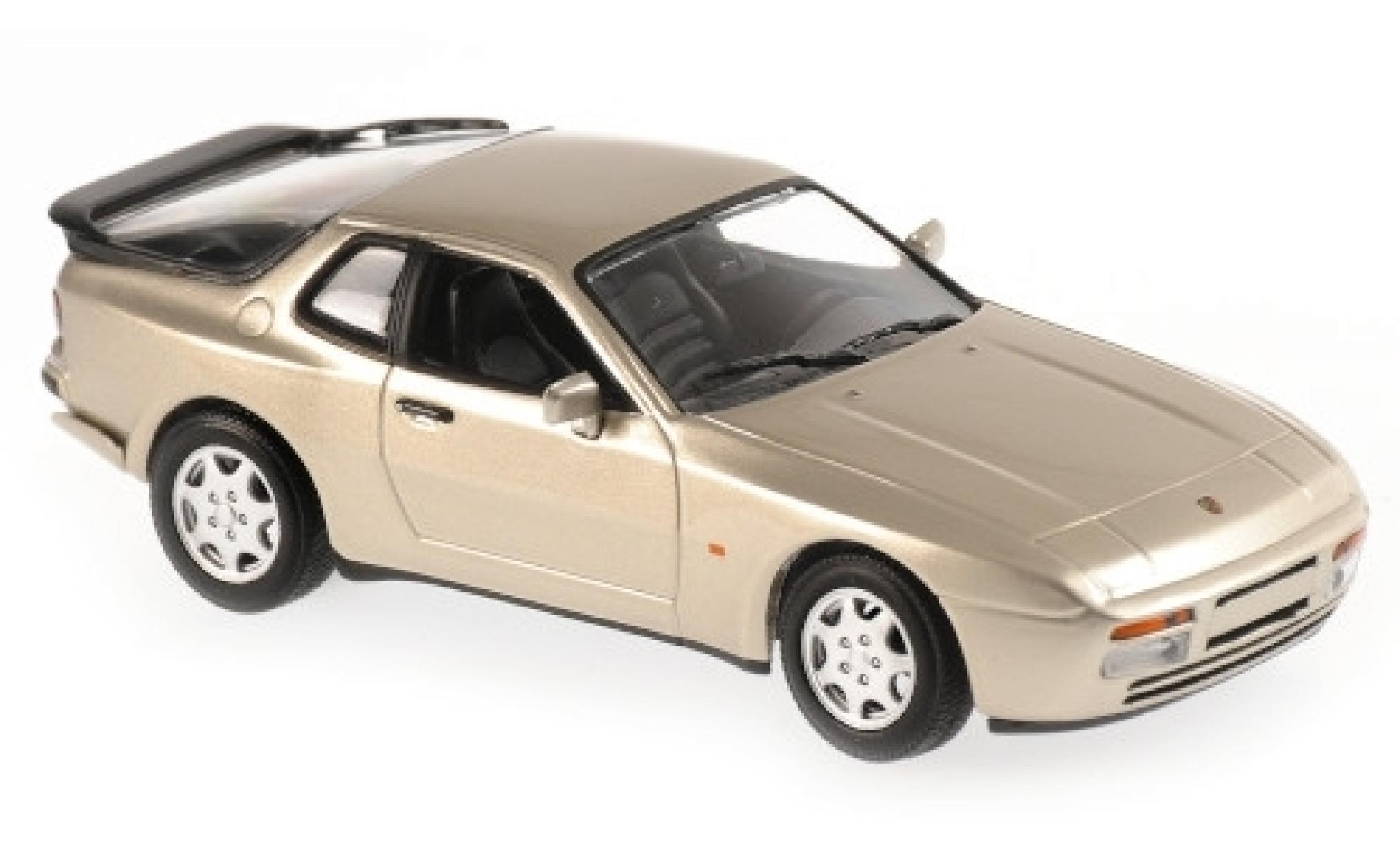 Porsche 944 1/43 Maxichamps S2 metallise beige 1989