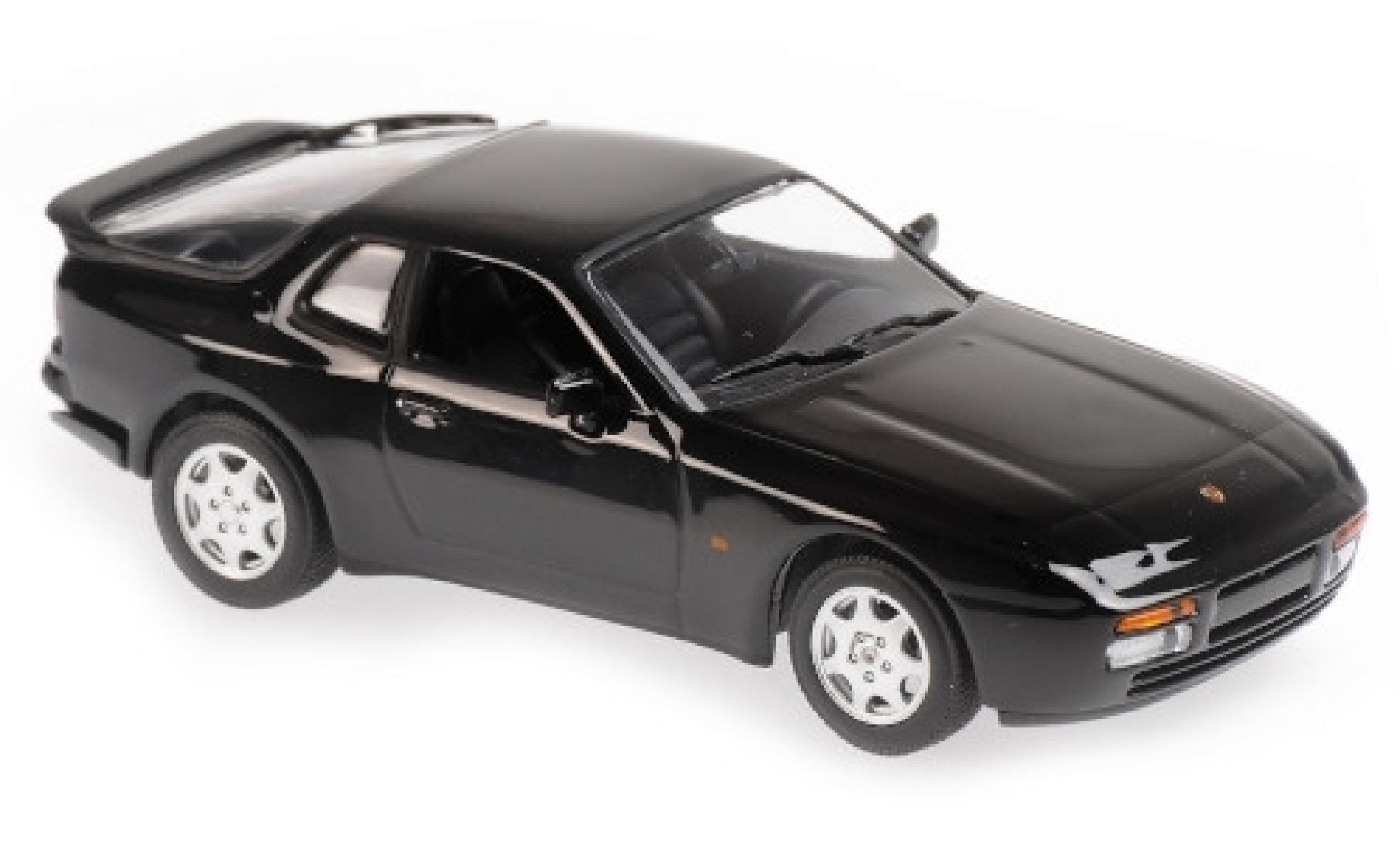 Porsche 944 1/43 Maxichamps S2 noire 1989