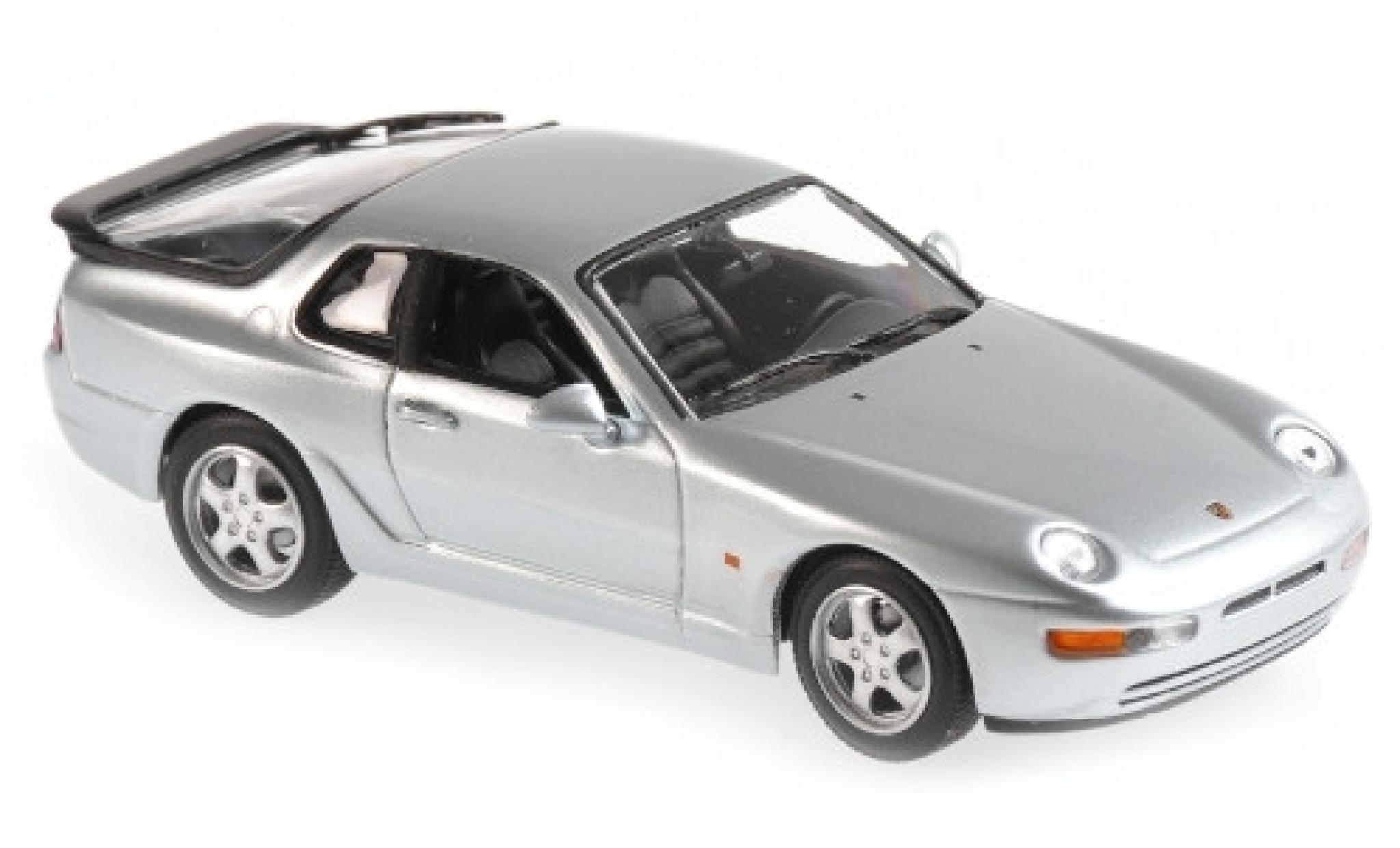 Porsche 993 1/43 Maxichamps 968 CS grise 1