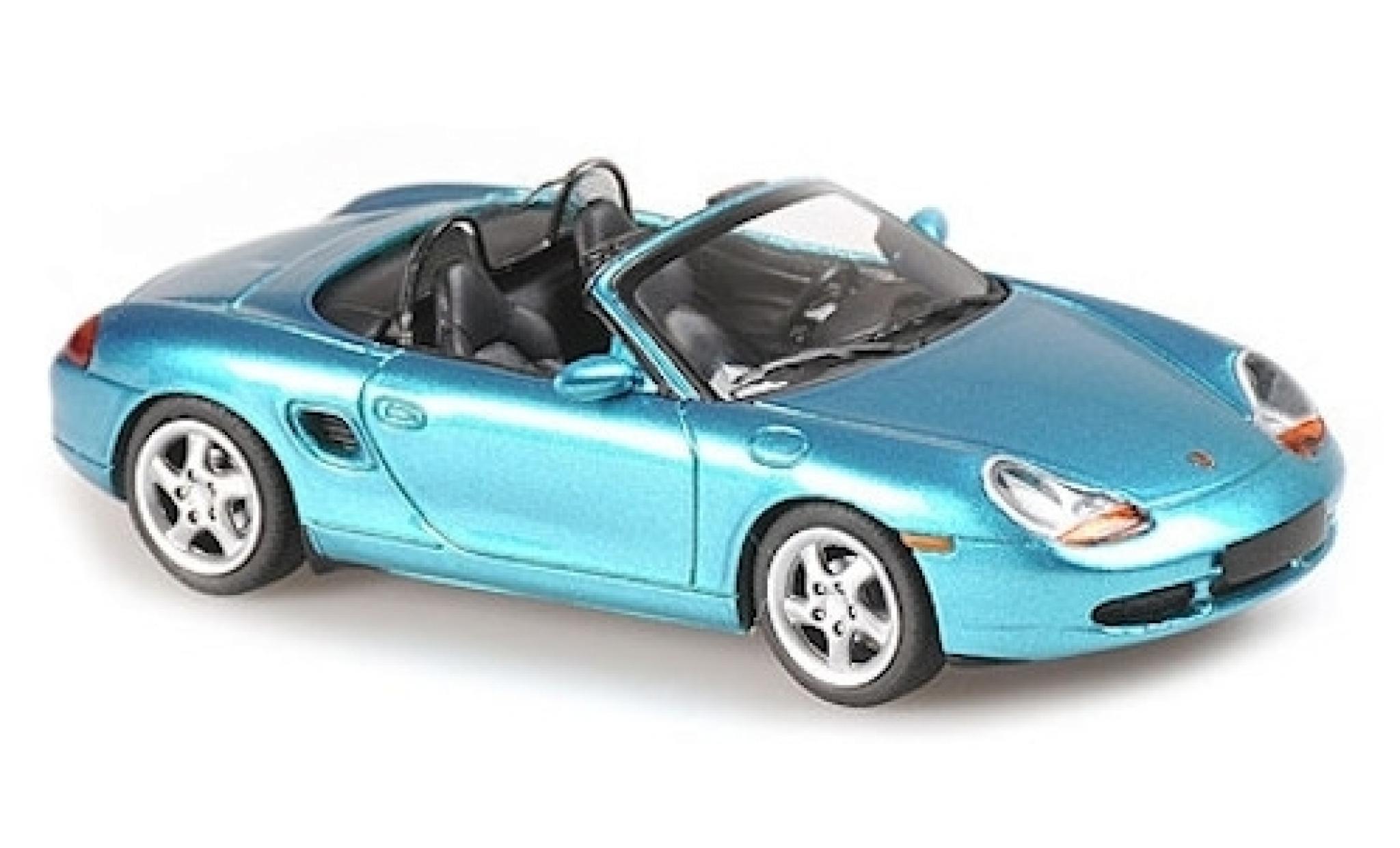 Porsche Boxster 1/43 Maxichamps S métallisé turquoise 1999