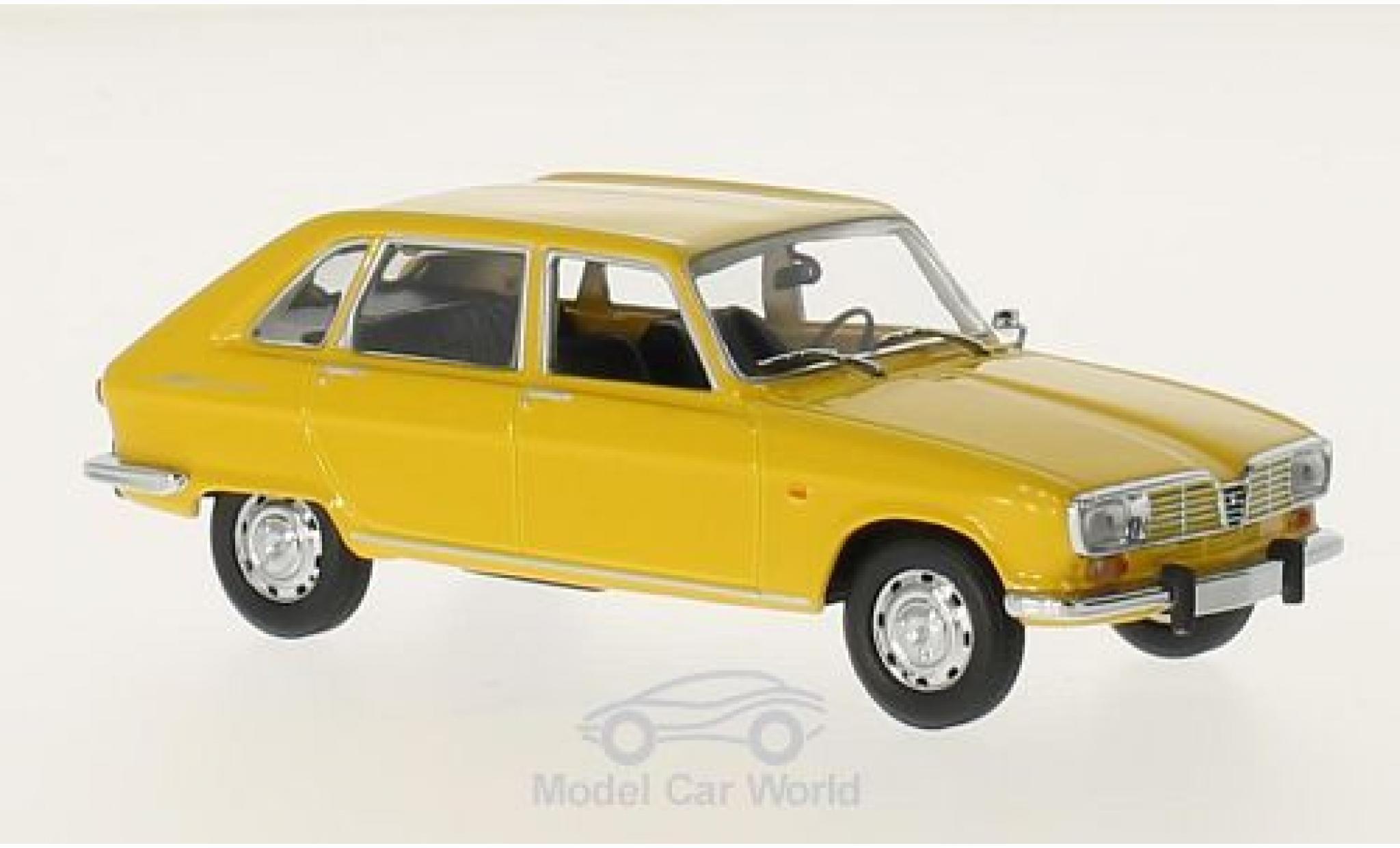 Renault 16 1/43 Maxichamps jaune 1965