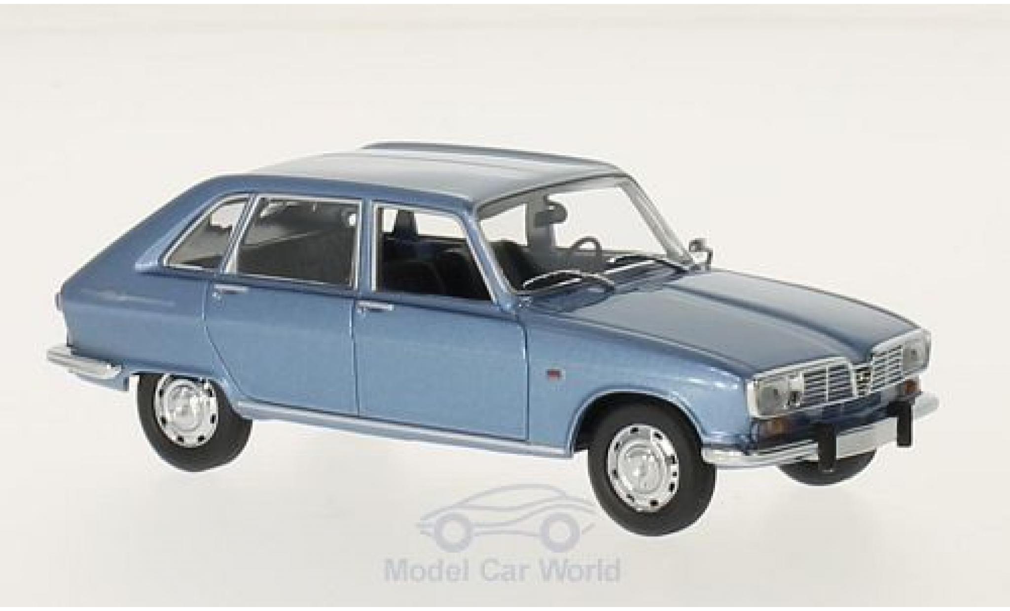 Renault 16 1/43 Maxichamps métallisé bleue 1965
