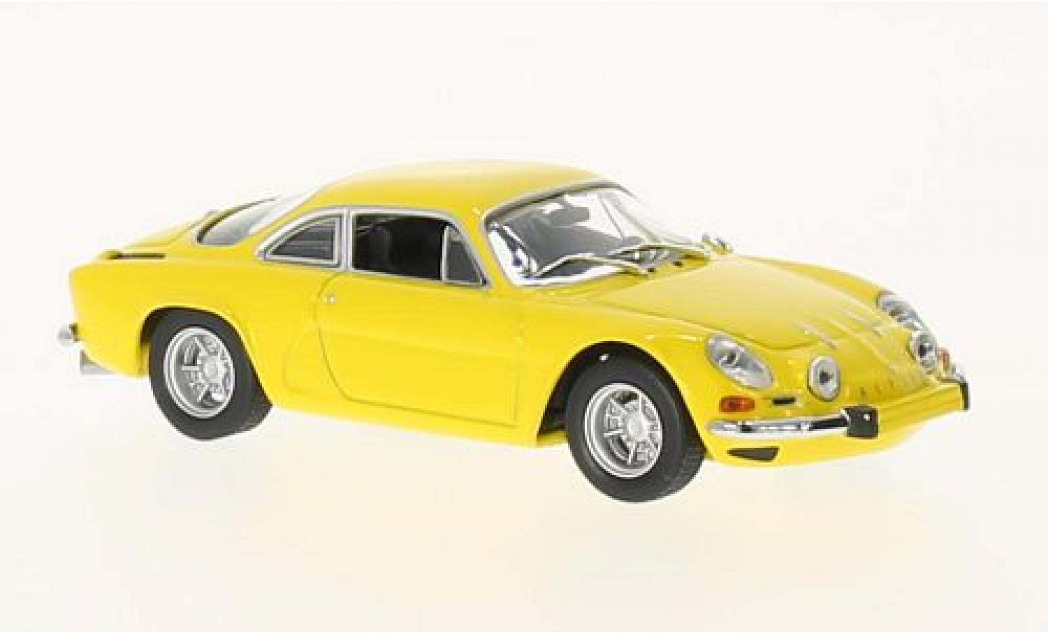 Alpine A110 1/43 Maxichamps Renault yellow 1971