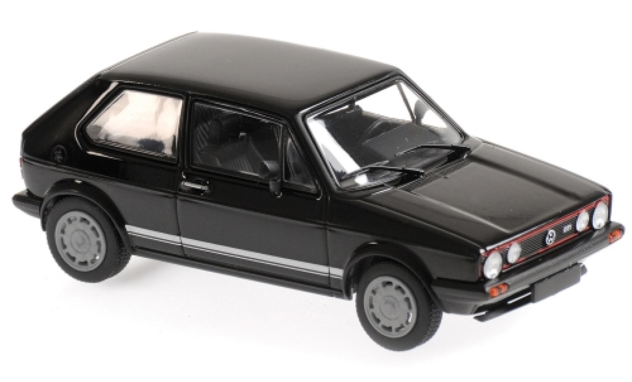 Volkswagen Golf 1/43 Maxichamps I GTI noire 1983
