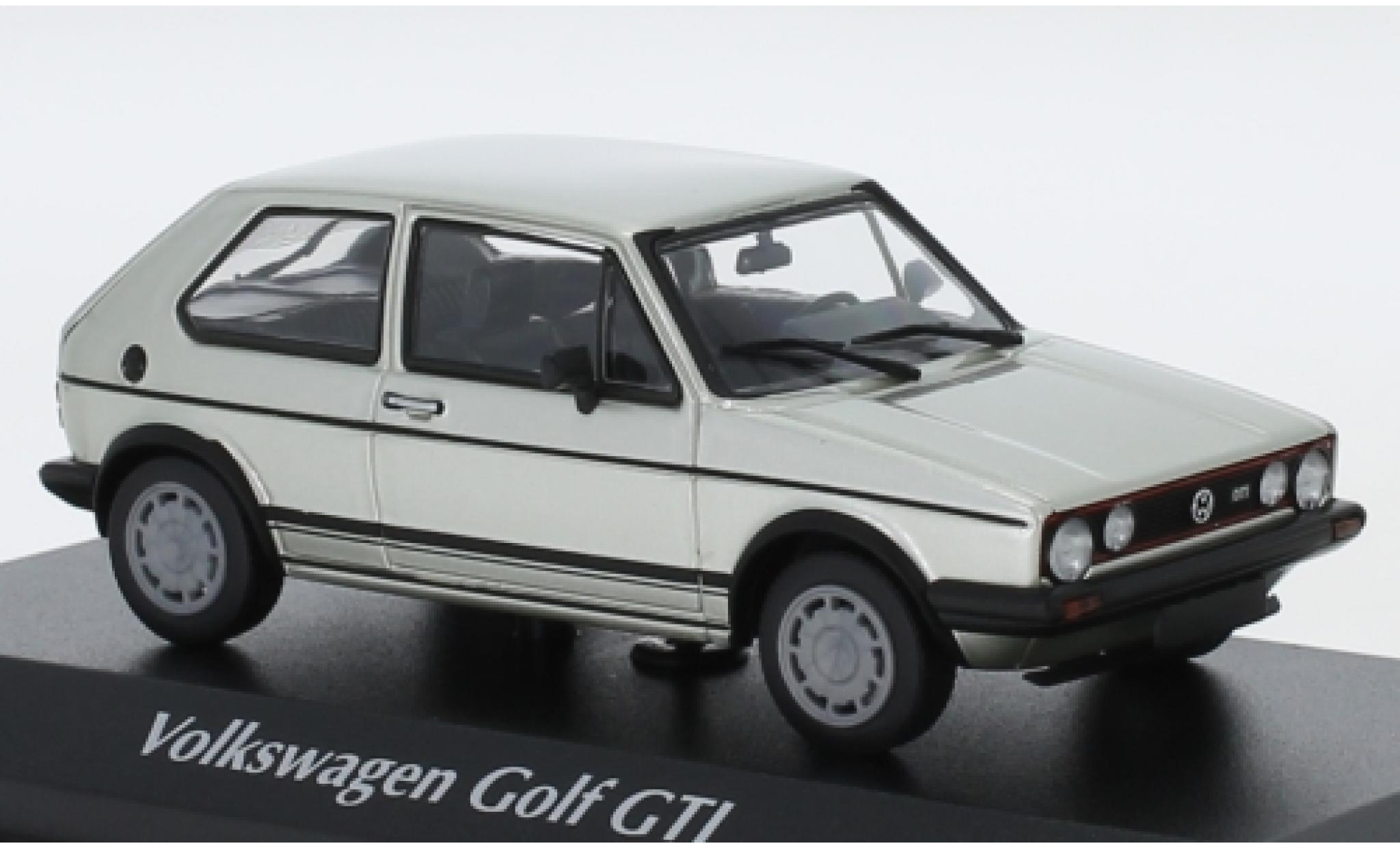 Volkswagen Golf 1/43 Maxichamps I GTI grise 1983