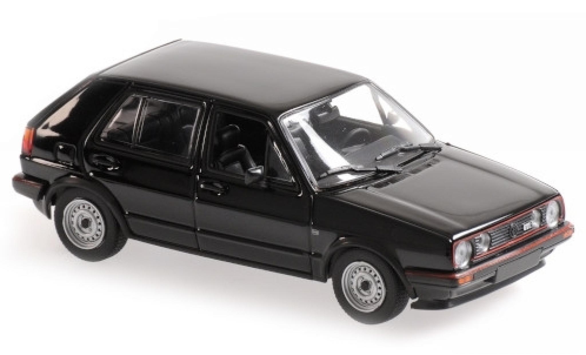 Volkswagen Golf 1/43 Maxichamps II GTI black 1985 5-portes