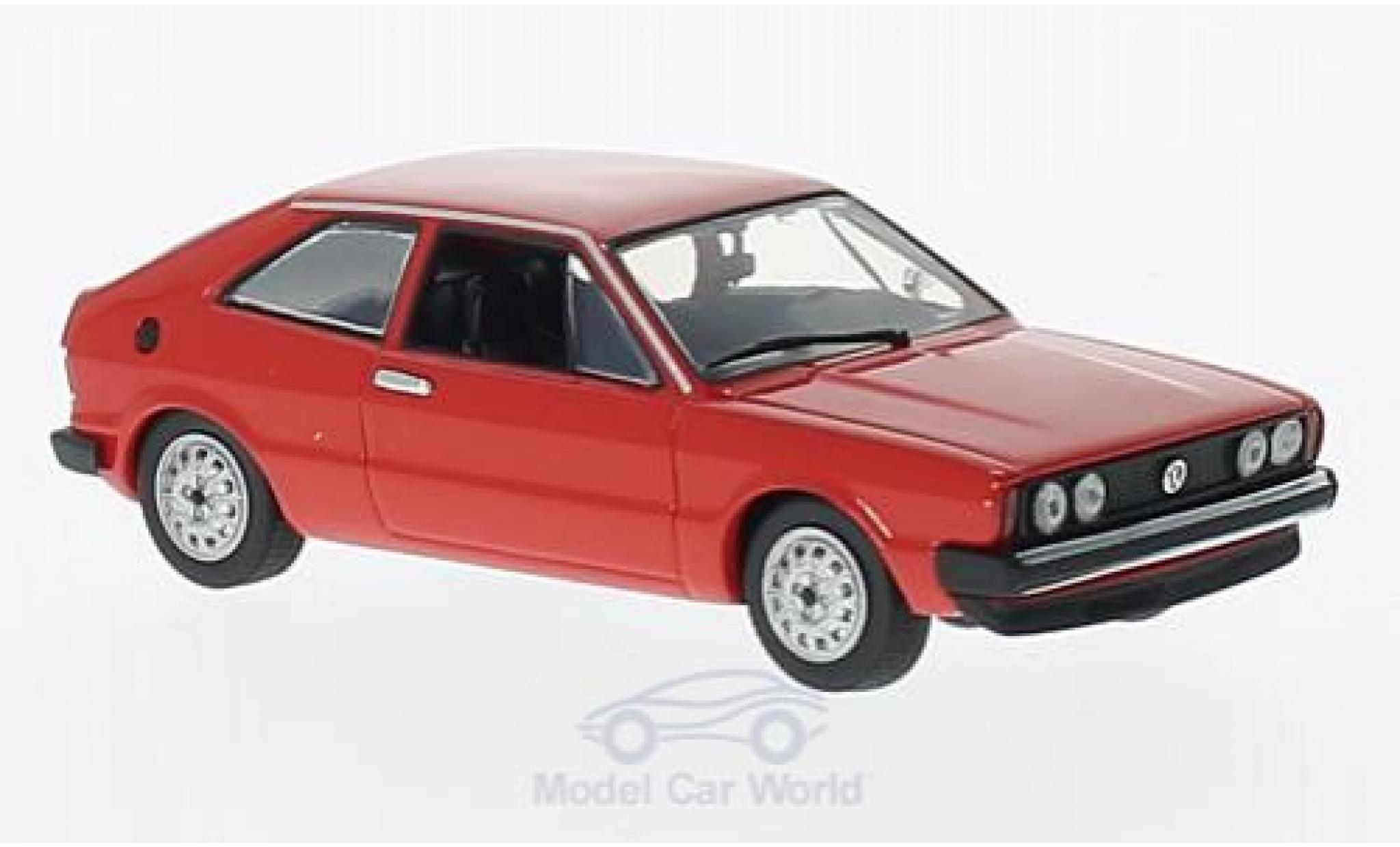 Volkswagen Scirocco 1/43 Maxichamps rouge 1974