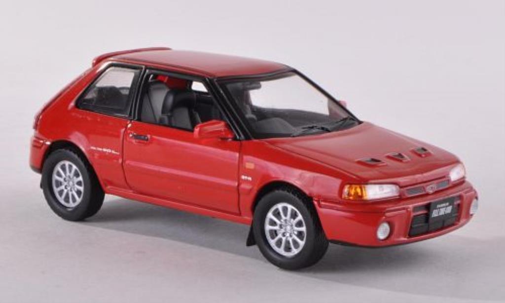 Mazda 323 1/43 IXO GTR rouge 1991 miniature