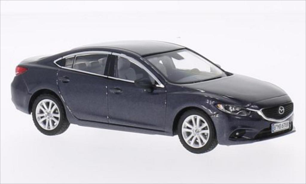 mazda 6 metallic dunkelgrau 2013 mcw modellauto 1 43 kaufen verkauf modellauto online. Black Bedroom Furniture Sets. Home Design Ideas