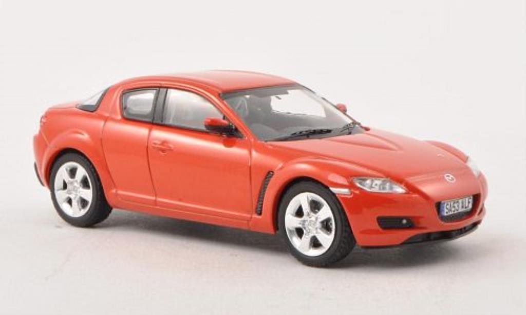 mazda rx8 orange rhd 2003 mcw modellauto 1 43 kaufen verkauf modellauto online. Black Bedroom Furniture Sets. Home Design Ideas
