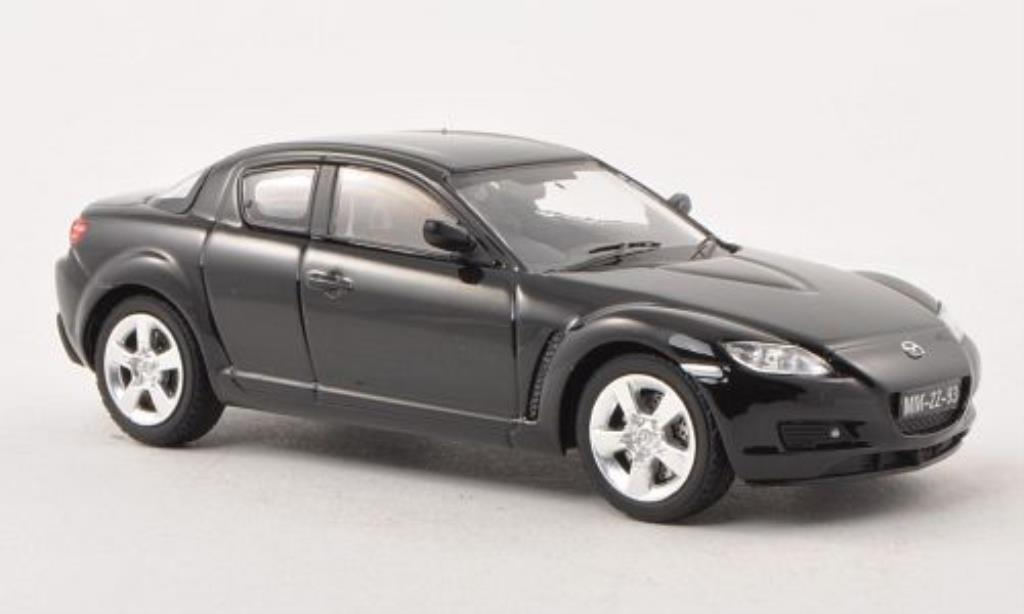 mazda rx8 schwarz rhd 2003 mcw modellauto 1 43 kaufen verkauf modellauto online. Black Bedroom Furniture Sets. Home Design Ideas