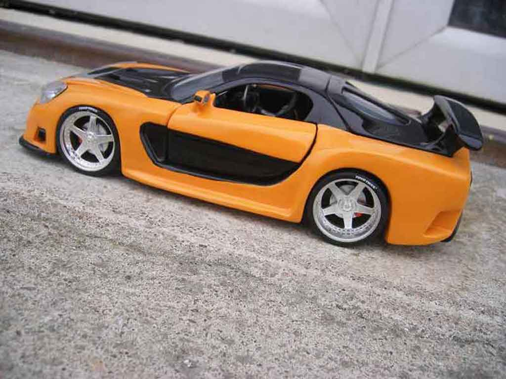 mazda rx7 kit veilside fast and furious 3 jada toys. Black Bedroom Furniture Sets. Home Design Ideas