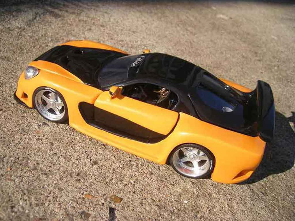 mazda rx7 kit veilside fast and furious 3 jada toys coches. Black Bedroom Furniture Sets. Home Design Ideas