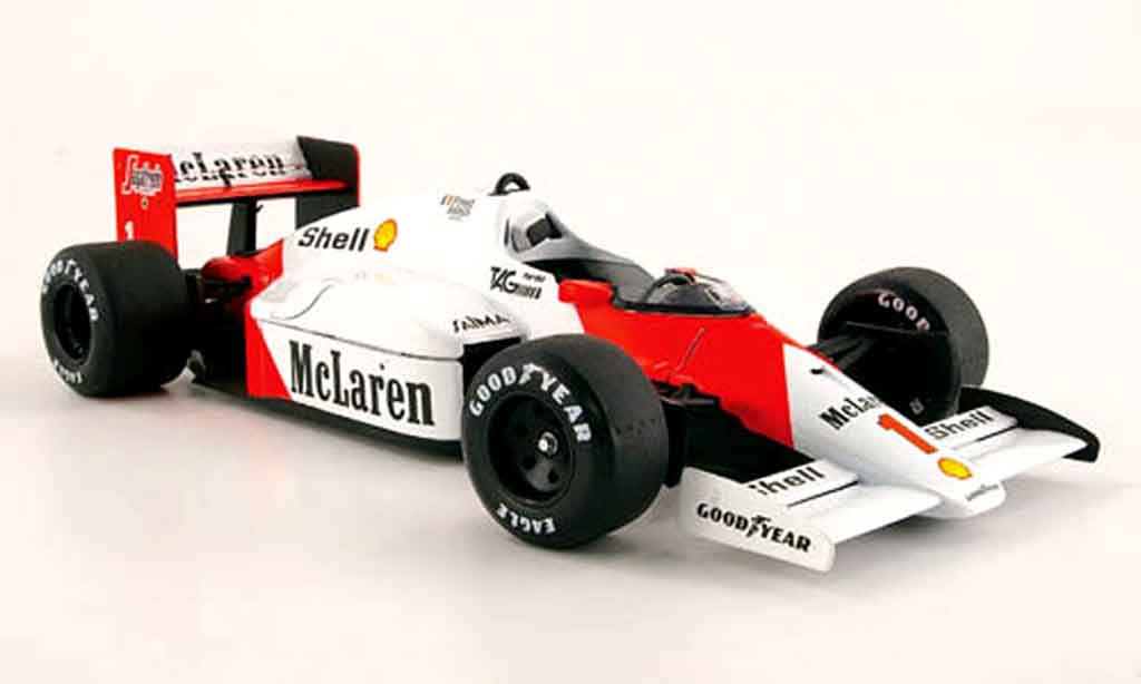 McLaren MP4-12C 1/18 Solido MP4 /2 c #1 alain prost 1986 diecast model cars